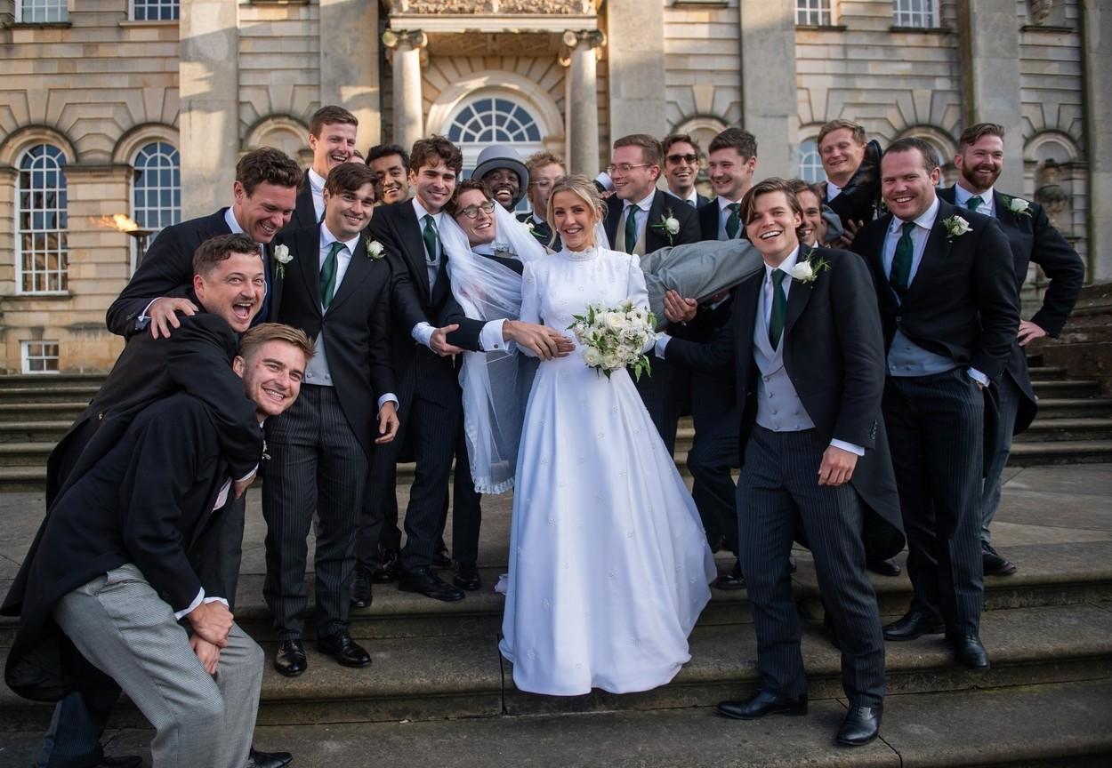 Yorkshire, UNITED KINGDOM  - *EXCLUSIVE*  - The Wedding of Ellie Goulding and Caspar Jopling shot by photographer Andrew Timms at York Minster and Castle Howard.  *PICTURES TAKEN ON THE 01/09/19*  BACKGRID UK 3 SEPTEMBER 2019, Image: 468898020, License: Rights-managed, Restrictions: , Model Release: no, Credit line: Profimedia, Backgrid UK
