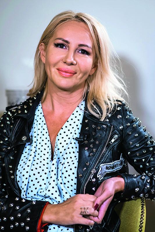 Zagreb, 200919. Kavkaska cajanka Borisa Vlasica. Na fotografiji: Anita Tucek, organizatorica Rujanfesta. Foto: Neja Markicevic / CROPIX