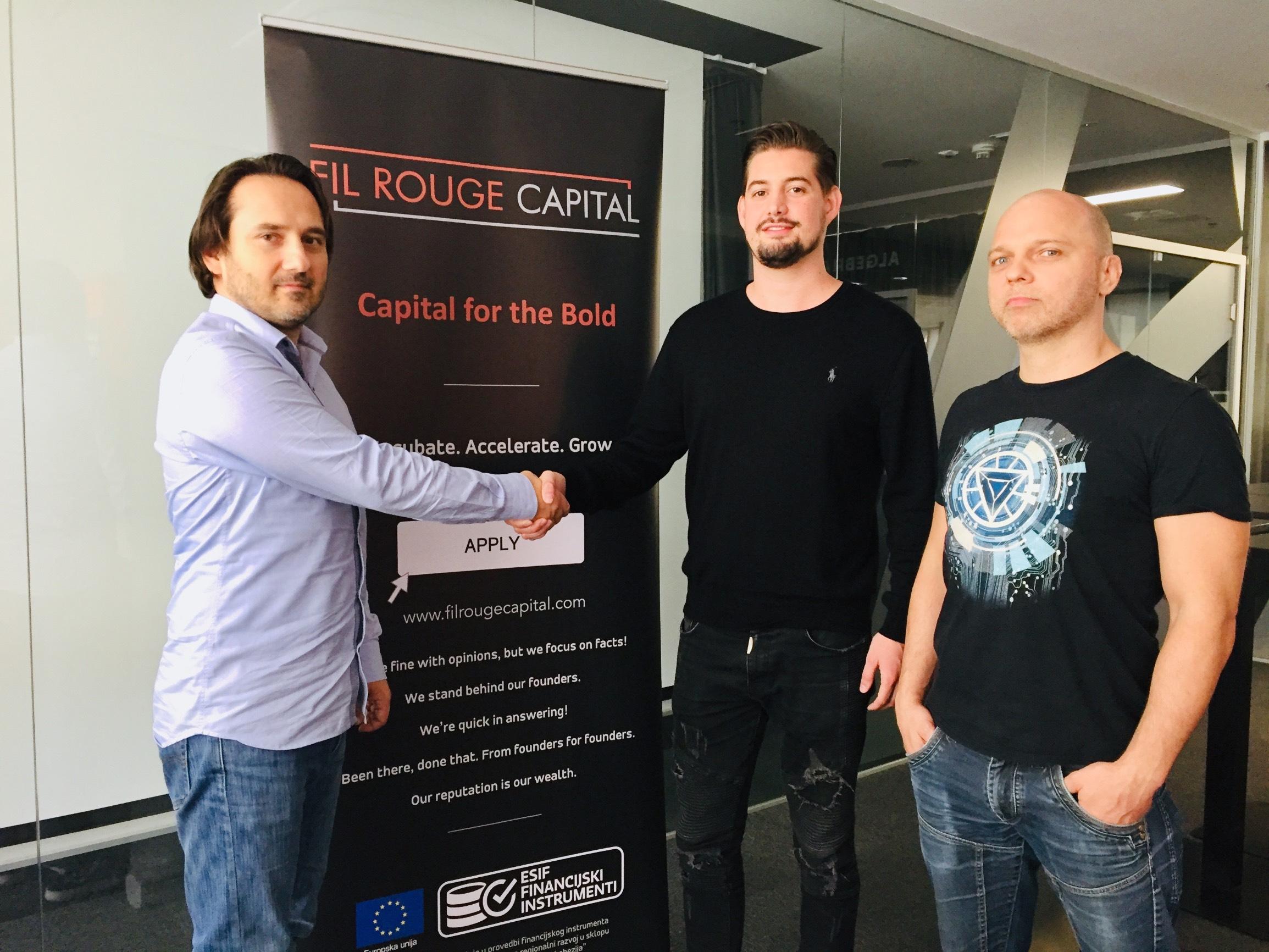 Stevica Kuharski i tim startupa Sandbee