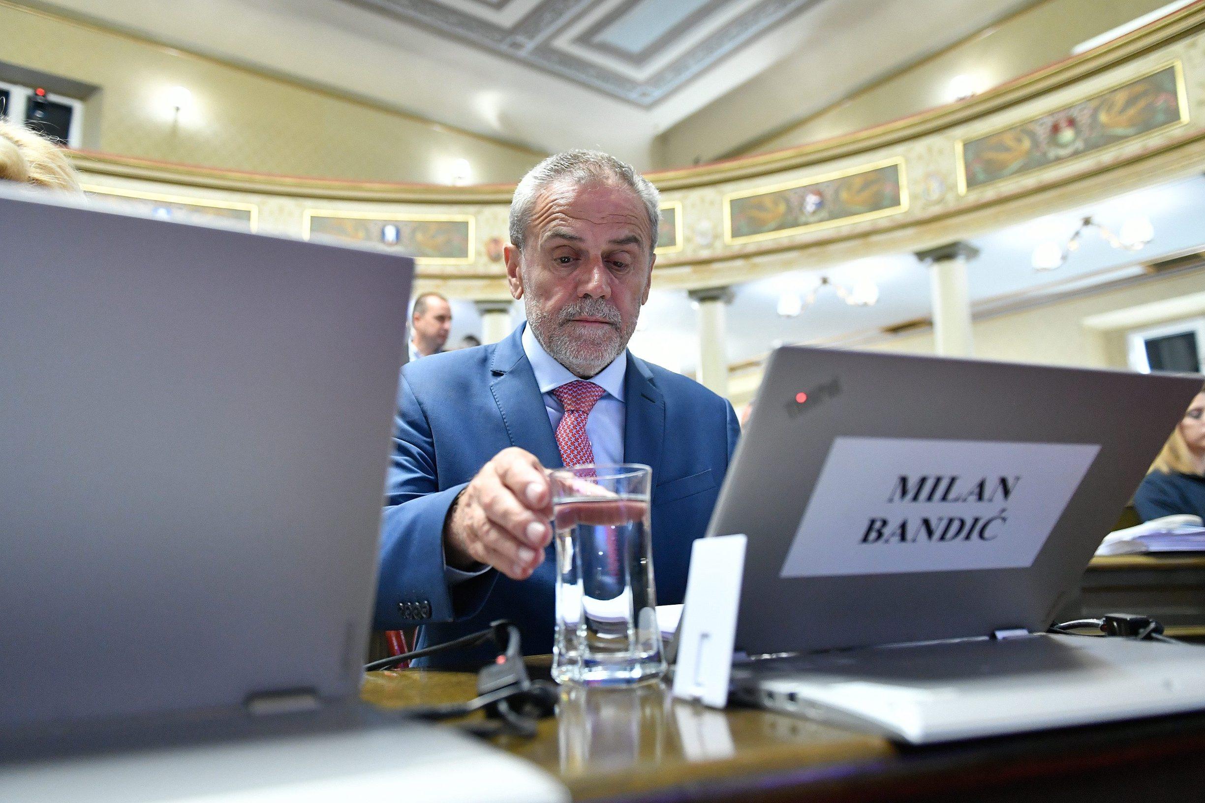 Na fotografiji: Milan Bandić