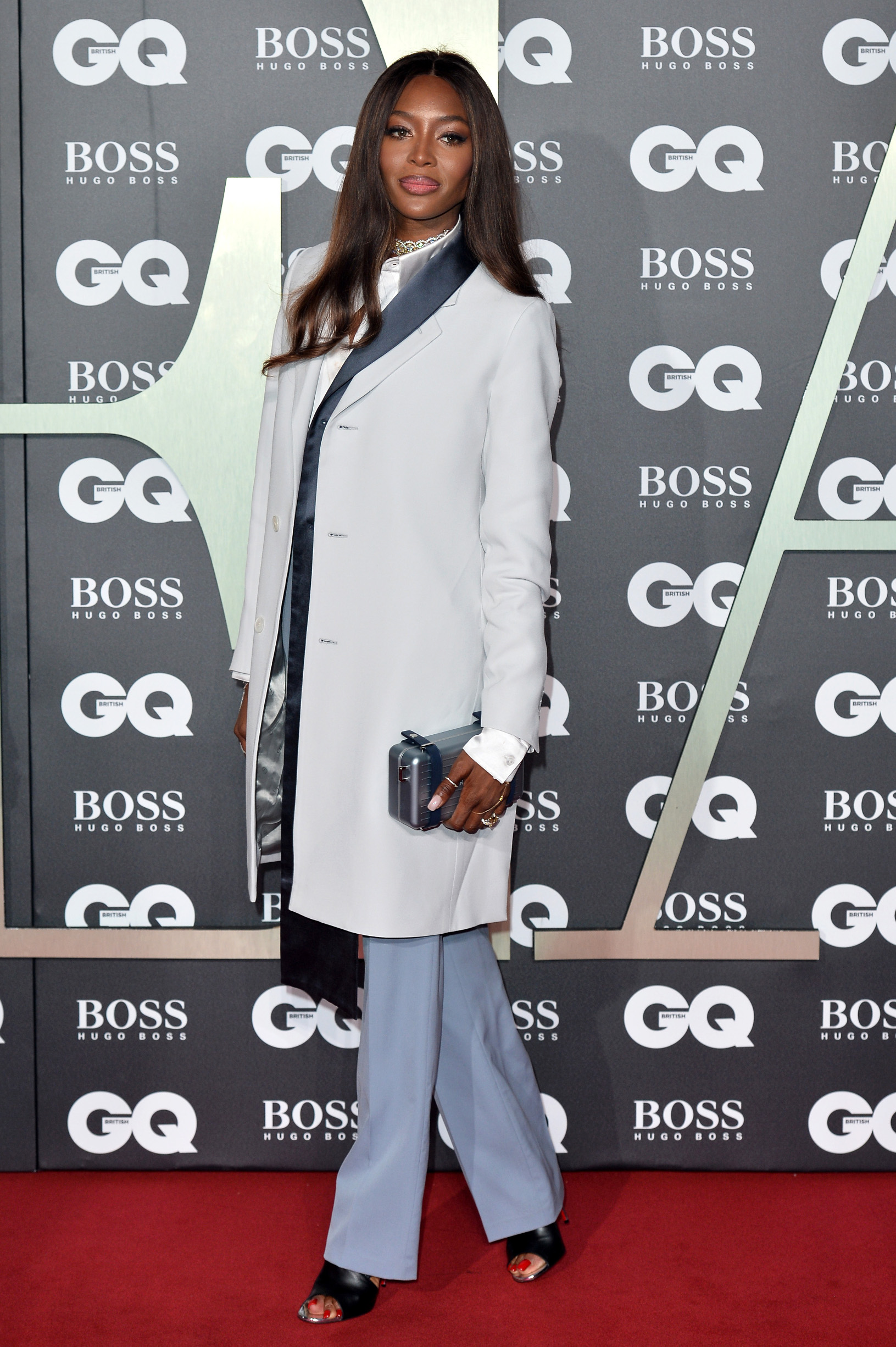 LONDON, ENGLAND - SEPTEMBER 03: Naomi Campbell attends the GQ Men Of The Year Awards 2019 at Tate Modern on September 03, 2019 in London, England. (Photo by Jeff Spicer/Getty Images)