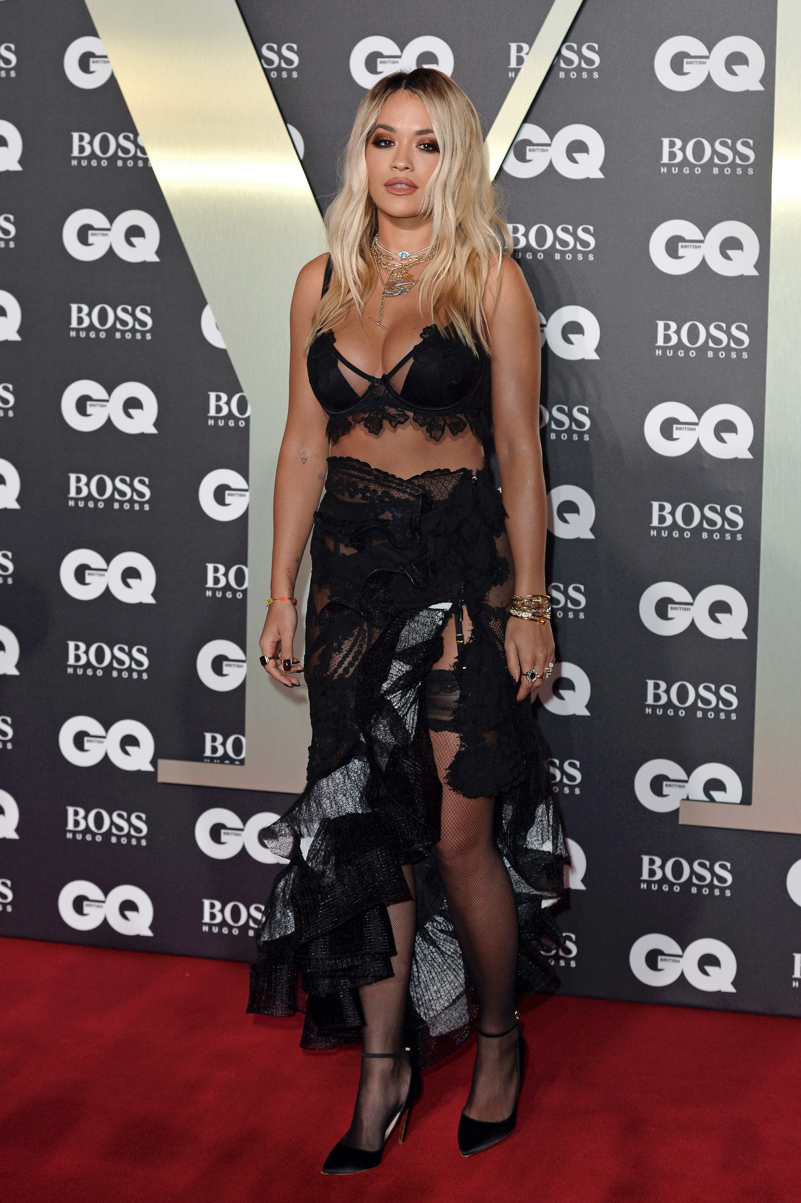 LONDON, ENGLAND - SEPTEMBER 03: Rita Ora attends the GQ Men Of The Year Awards 2019 at Tate Modern on September 03, 2019 in London, England. (Photo by Jeff Spicer/Getty Images)