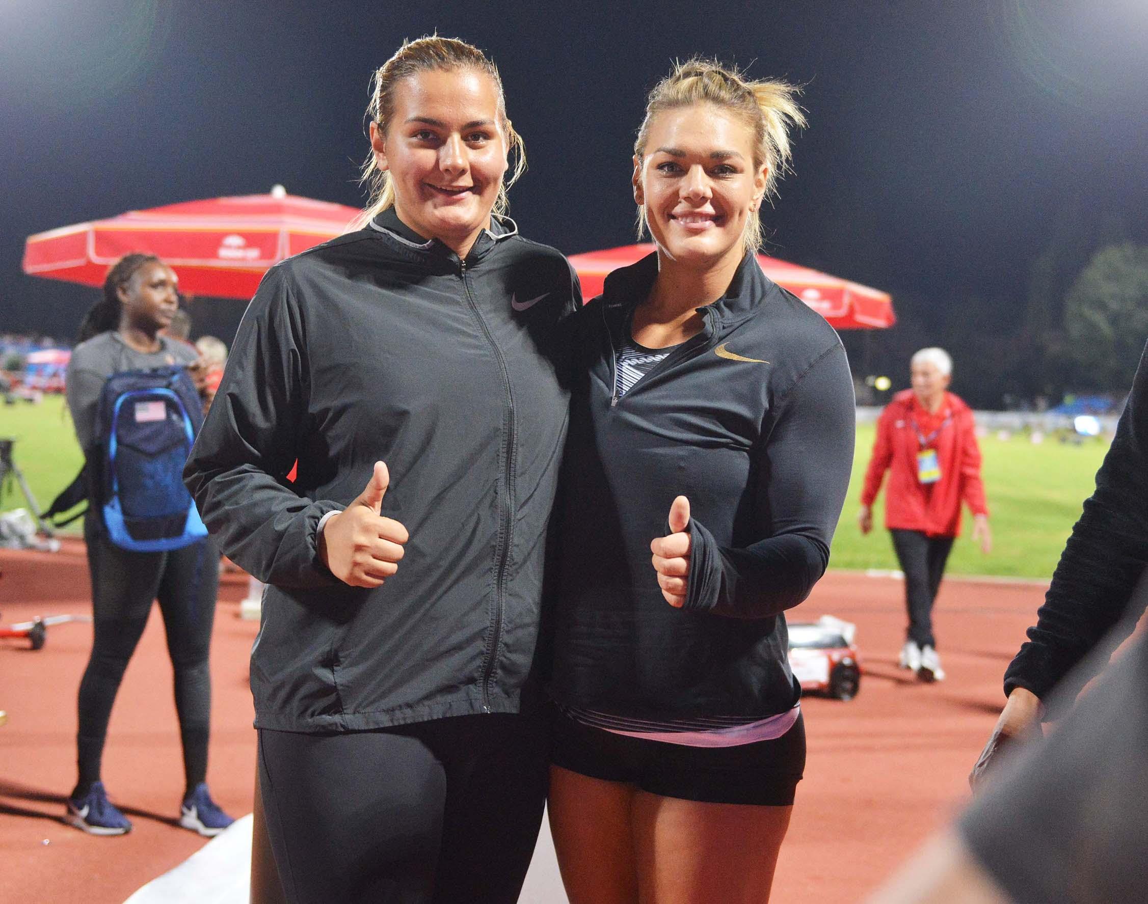 Marija Tolj i Sandra Perković