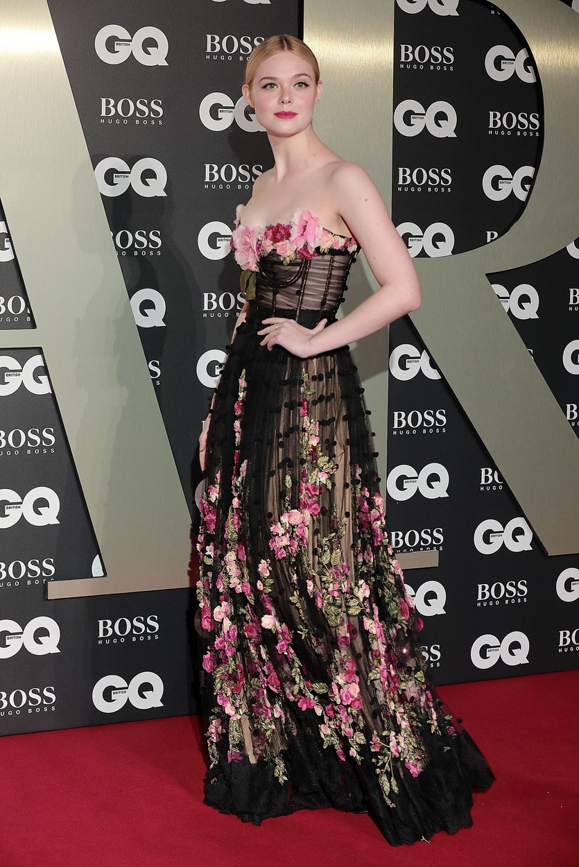 Elle Fanning GQ Men of the Year Awards, Arrivals, Tate Modern, London, UK - 03 Sep 2019, Image: 468996743, License: Rights-managed, Restrictions: , Model Release: no, Credit line: Profimedia, Shutterstock Editorial