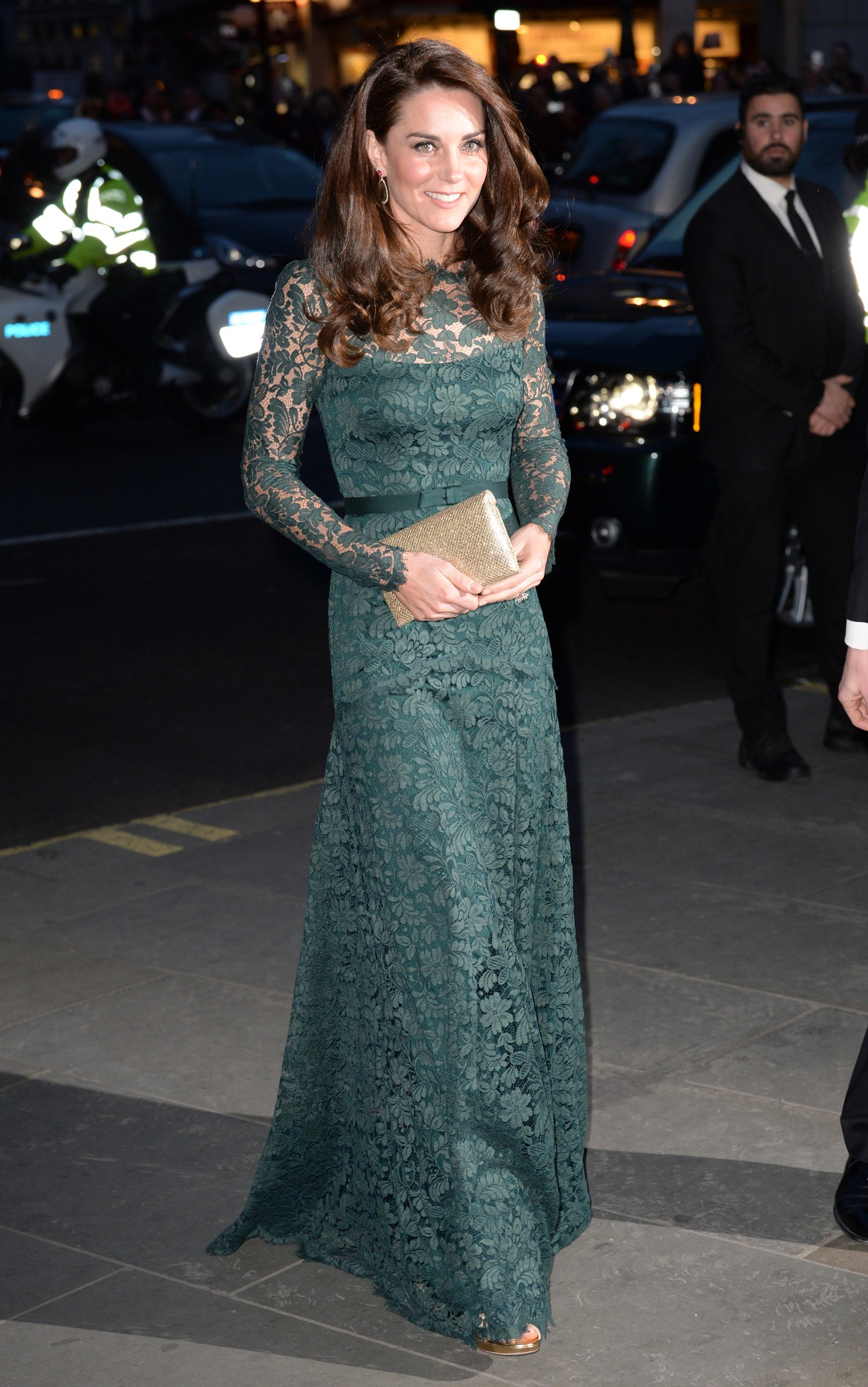 Catherine, Duchess of Cambridge arrives at the National Portrait Gallery for The Portrait Gala 2017 fundraiser, London., Image: 326862458, License: Rights-managed, Restrictions: , Model Release: no, Credit line: Profimedia, Press Association