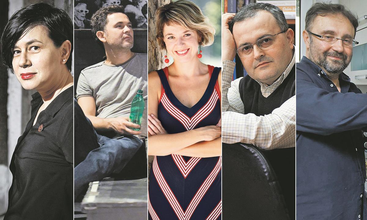 Olja Savičević Ivančević, Roman Simić, Ivana Simić Bodrožić, Zoran Maljković, Zoran Ferić