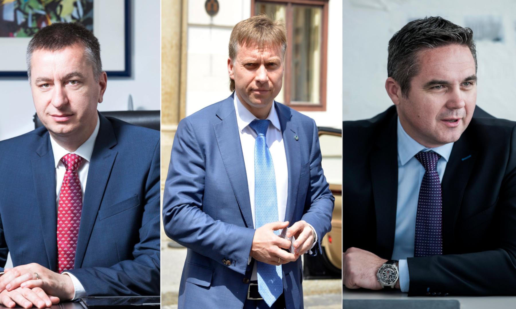Fabri Peruško, Maksim Poletaev, Marin Pucar