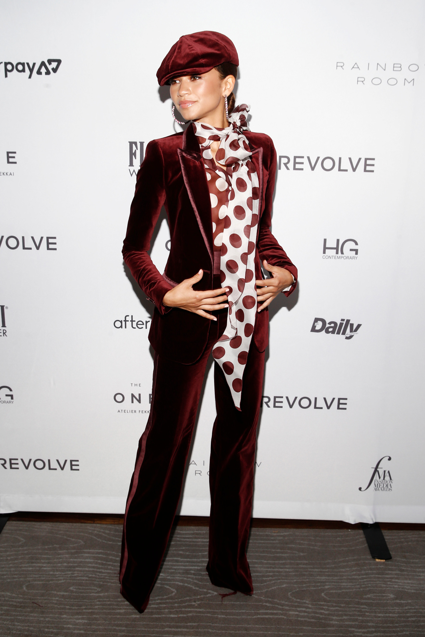 NEW YORK, NEW YORK - SEPTEMBER 05: Zendaya attends The Daily Front Row's 7th annual Fashion Media Awards on September 05, 2019 in New York City. (Photo by Brian Ach/Getty Images  for Daily Front Row, Inc.)