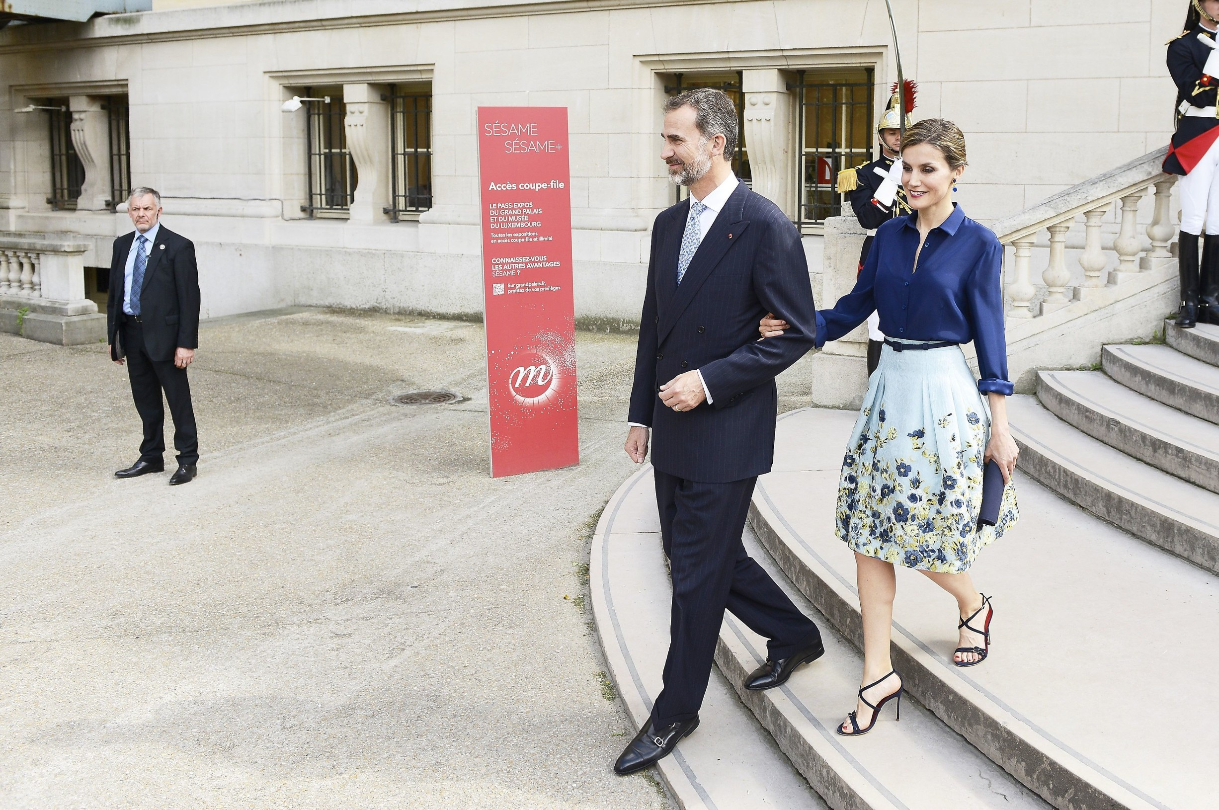 (4818160ax) King Felipe VI, Francois Hollande and Queen Letizia King Felipe VI and Queen Letizia visit to Paris, France - 02 Jun 2015, Image: 247369861, License: Rights-managed, Restrictions: , Model Release: no, Credit line: Profimedia, Shutterstock Editorial