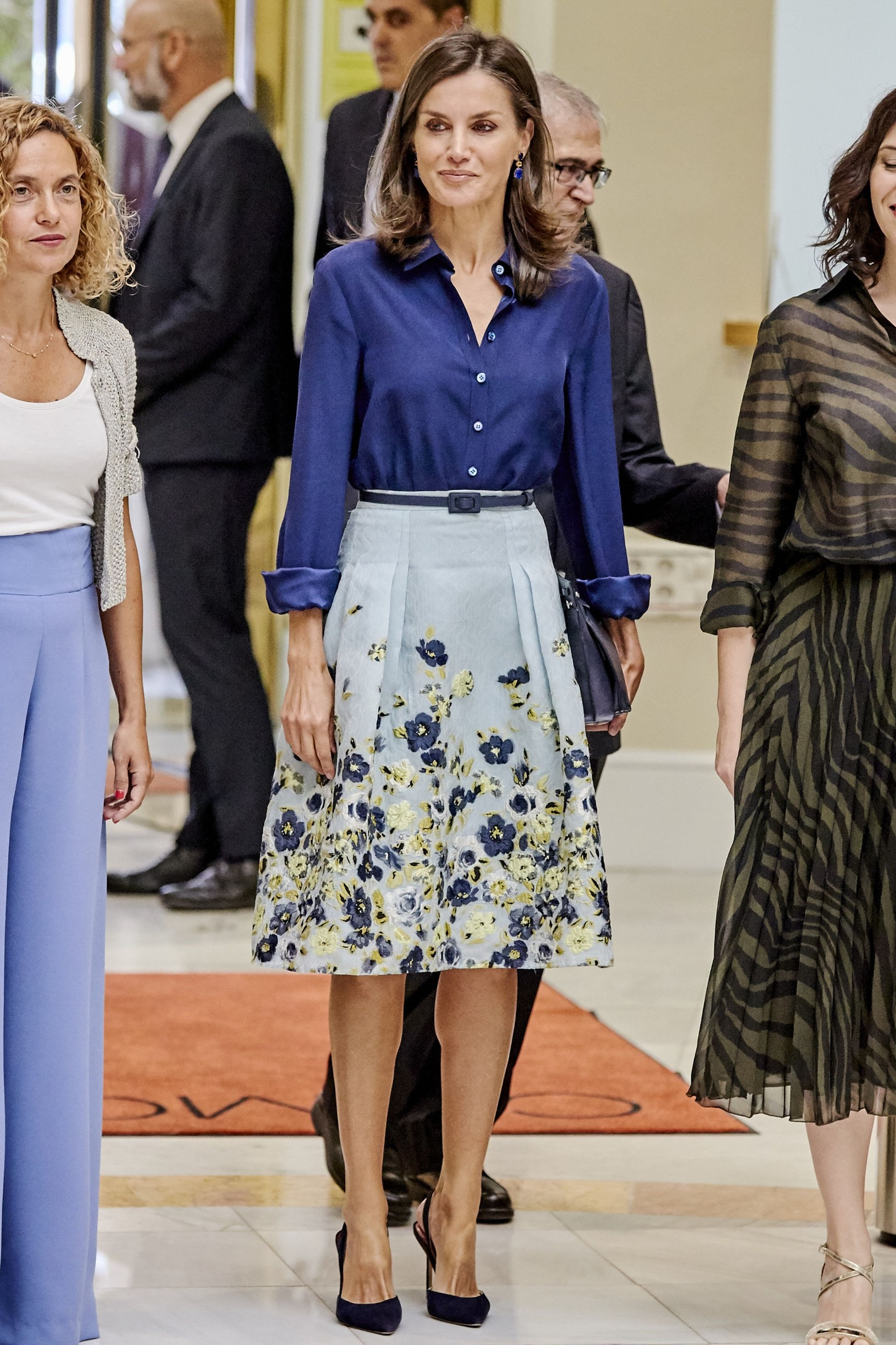 Queen Letizia of Spain attends ÓIII Day On Disability Informative Treatment