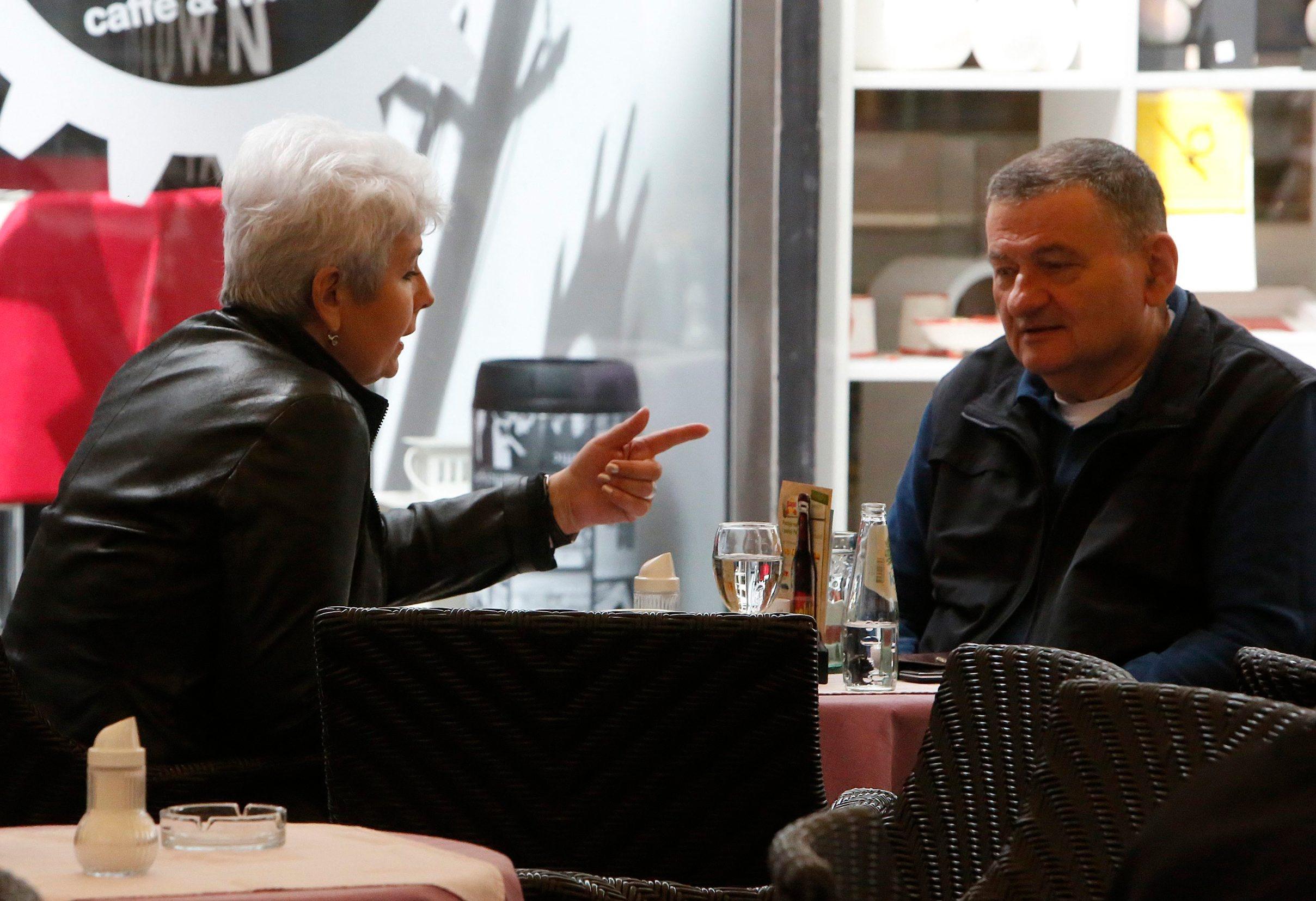 Bivša premijerka Jadranka Kosor s odvjetnikom Krunislavom Olujićem