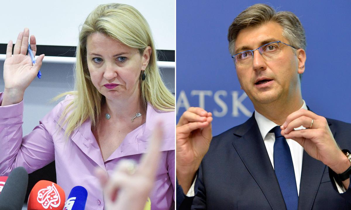 Nataša Novaković, Andrej Plenković