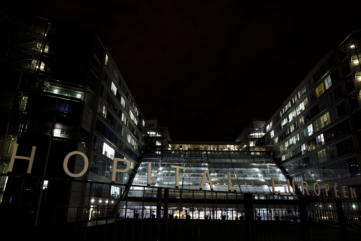 A general view shows the hospital Georges Pompidou where former Formula One world champion Michael Schumacher has been admitted, in Paris, France, September 9, 2019. REUTERS/Benoit Tessier