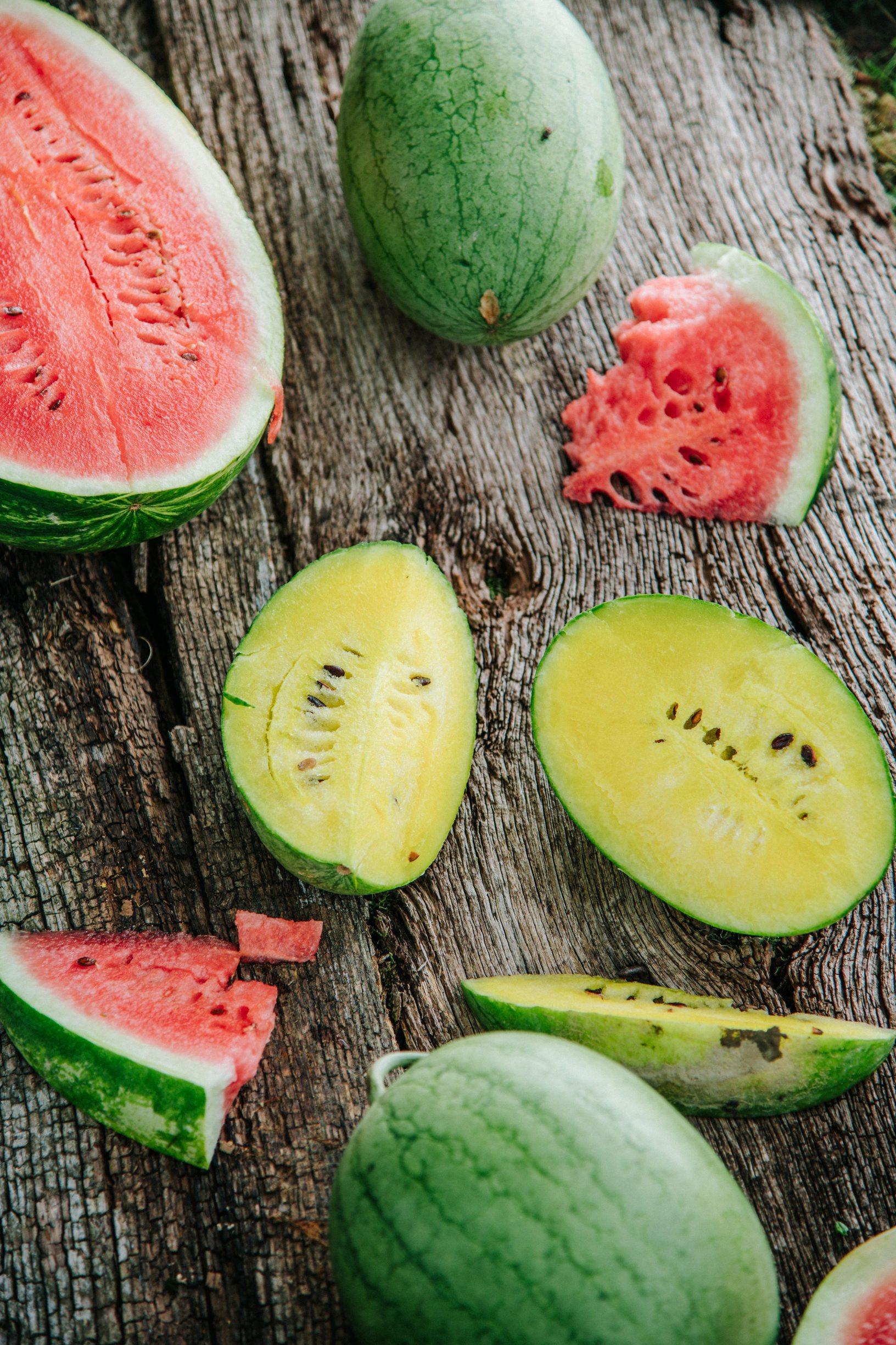 Karlovac, 210819. Opg Karas na kojem se bave uzgojem zutih lubenica. Foto: Marko Miscevic / Cropix