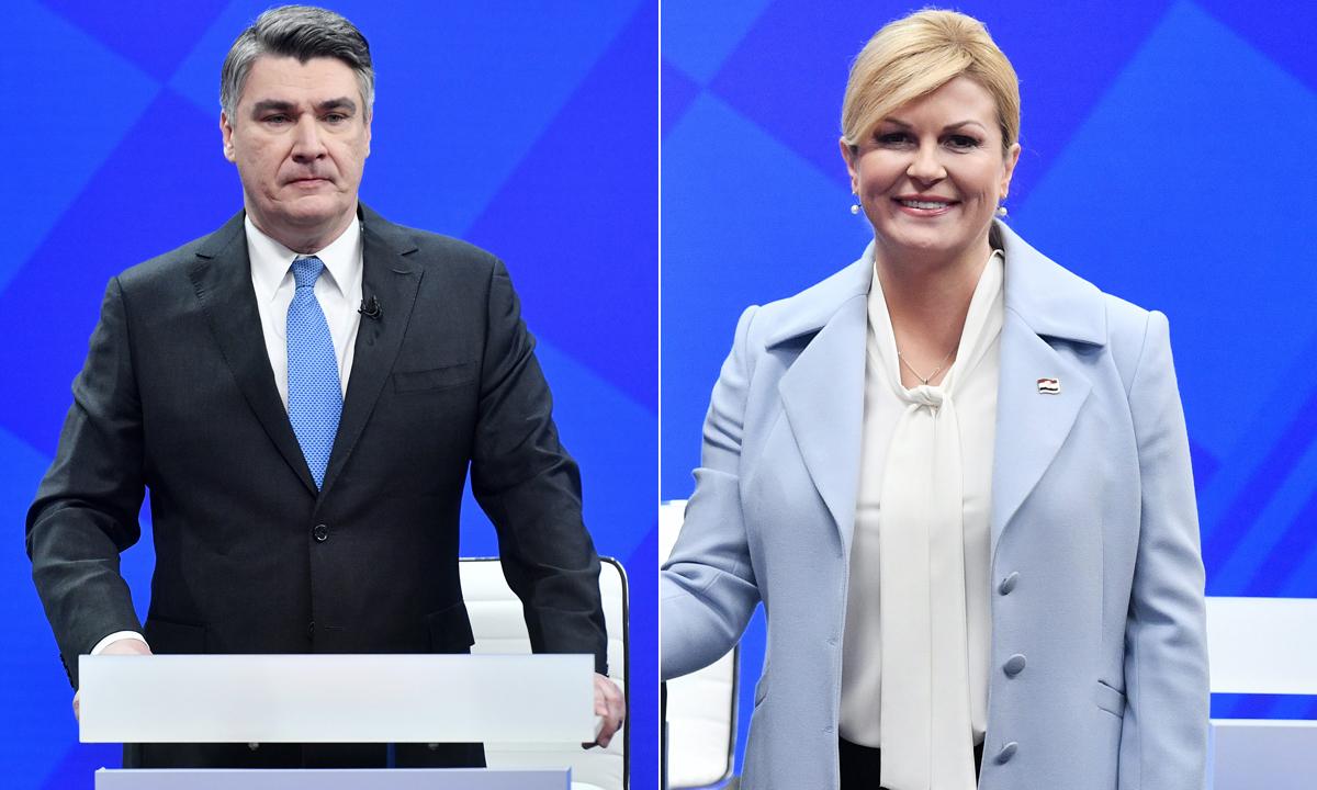 Zoran Milanović, Kolinda Grabar Kitarović