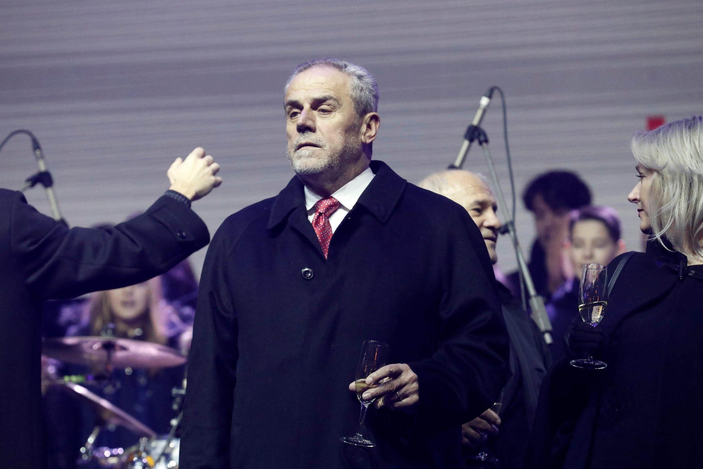 Milan Bandić na Trgu bana Jelačića