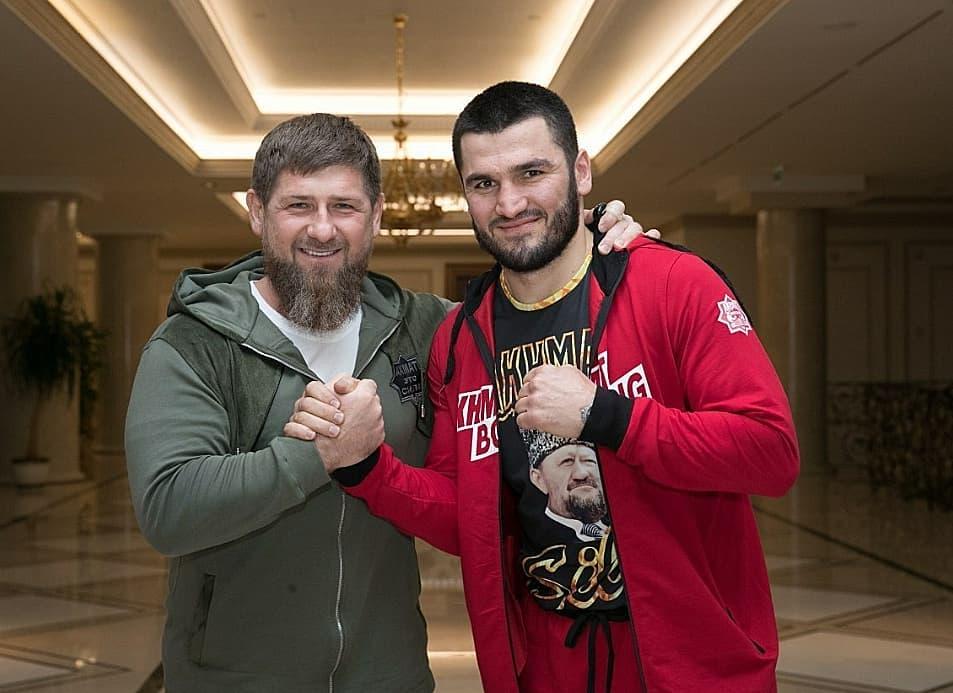 Ramzan Kadyrov i Artur Beterbiev