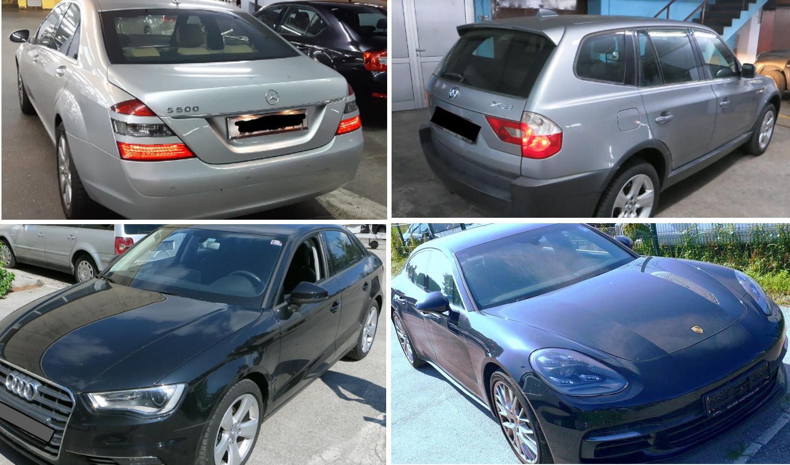 Ministarstvo državne imovine prodaje zaplijenjena vozila