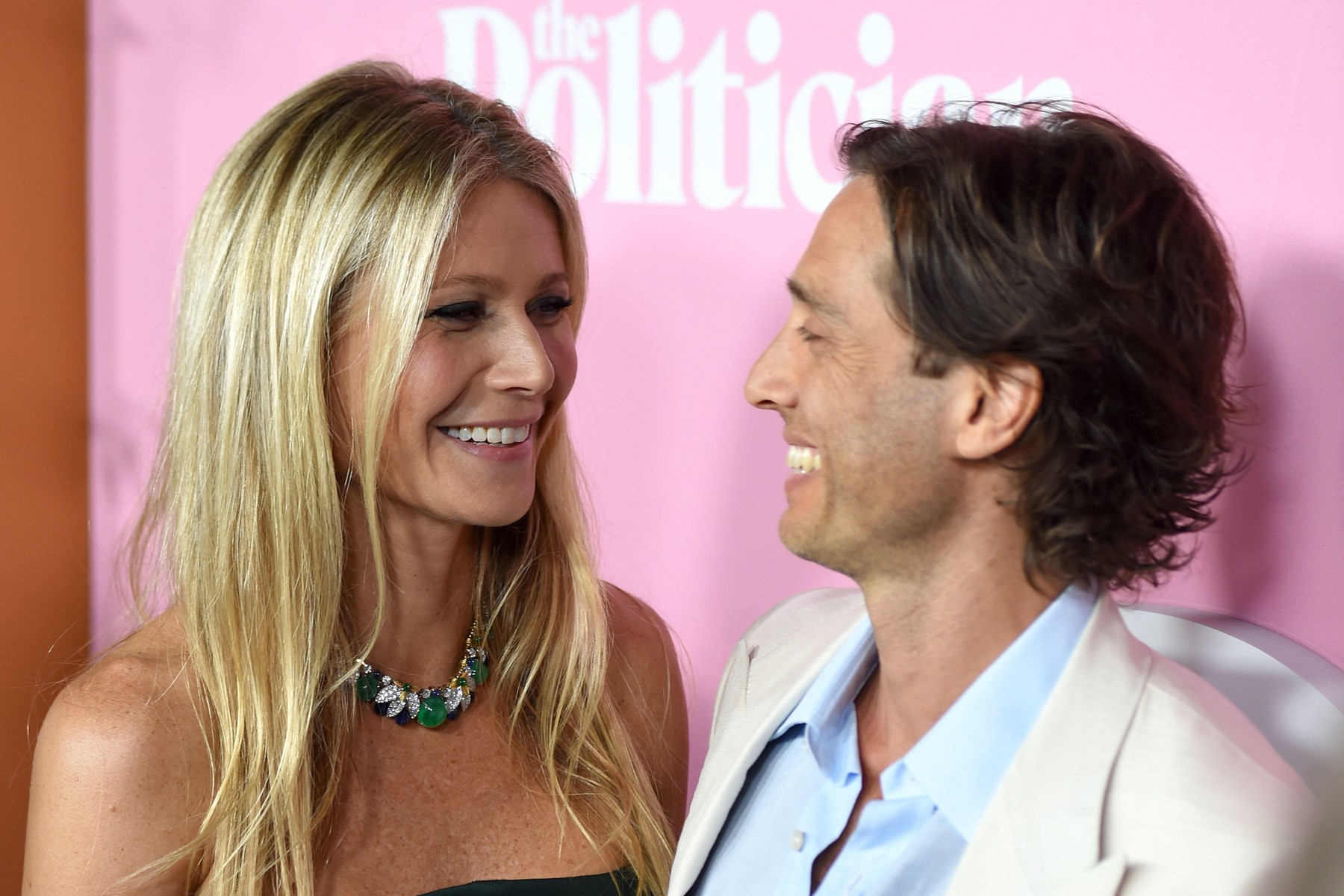 Gwyneth Paltrow, Brad Falchuk 'The Politician' TV show premiere on September 26, 2019 in New York, Image: 473638461, License: Rights-managed, Restrictions: , Model Release: no, Credit line: AUG/face to face / Face to Face / Profimedia