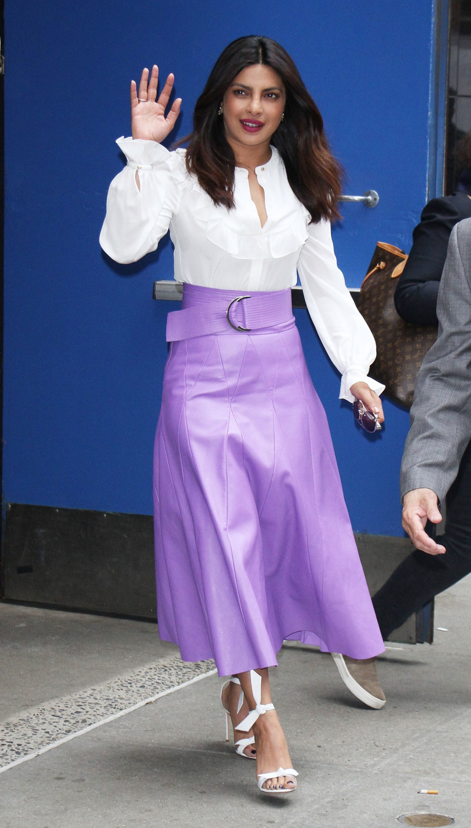 Priyanka Chopra 'Good Morning America' TV show, New York, USA - 22 May 2017, Image: 333229507, License: Rights-managed, Restrictions: , Model Release: no, Credit line: MediaPunch / Shutterstock Editorial / Profimedia