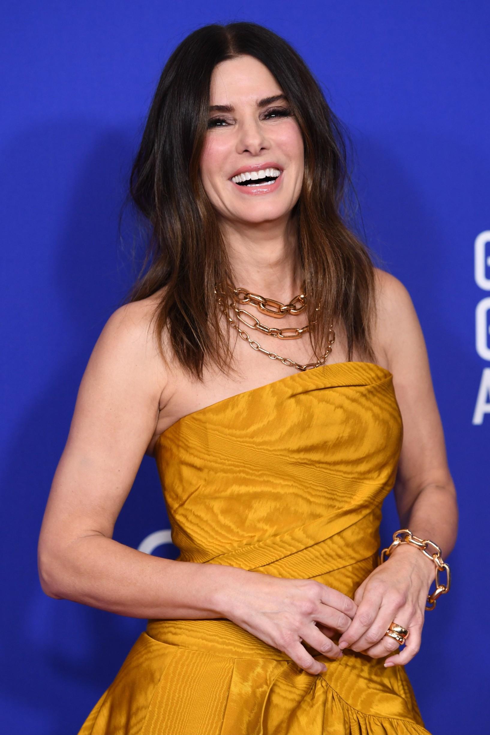 Sandra Bullock 77th Annual Golden Globe Awards, Press Room, Los Angeles, USA - 05 Jan 2020, Image: 491217080, License: Rights-managed, Restrictions: , Model Release: no, Credit line: REX / Shutterstock Editorial / Profimedia