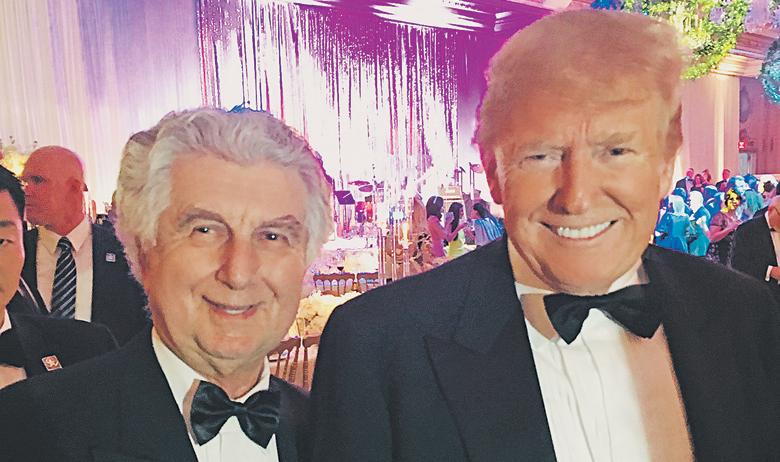 Vladimir Kraljević i Donald Trump
