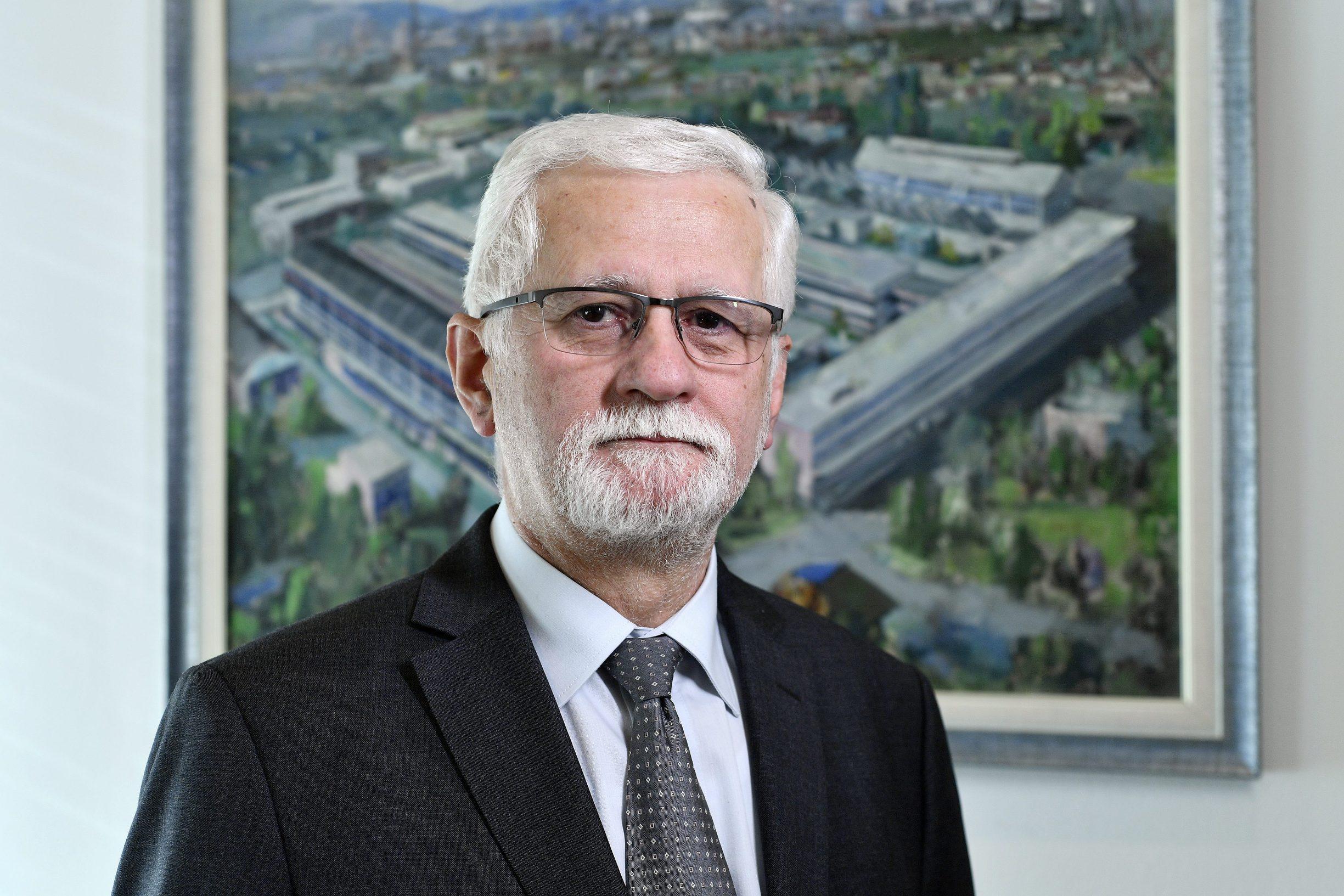 Darinko Bago, predsjednik uprave Končar Elektroindustrije, fotografiran u prostorijama tvrtke
