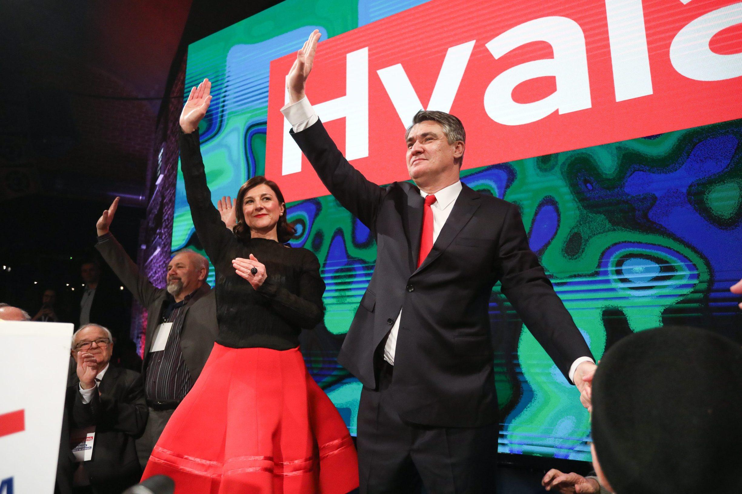 Na fotografiji: Sanja Musić Milanović i Zoran Milanović