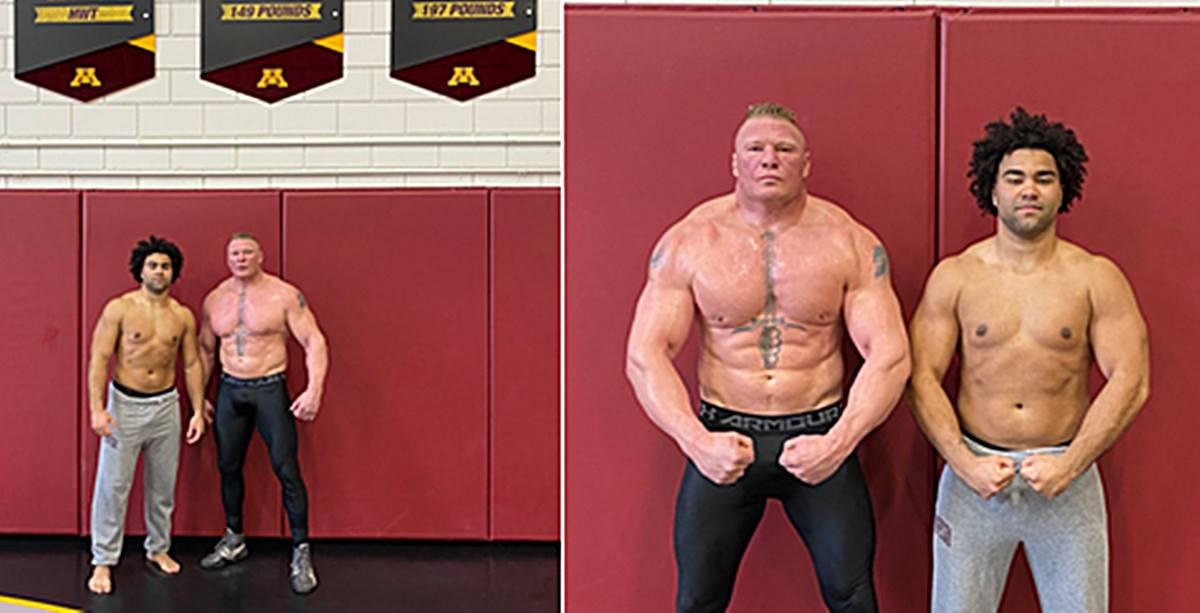 Brock Lesnar i Gable Stevenson