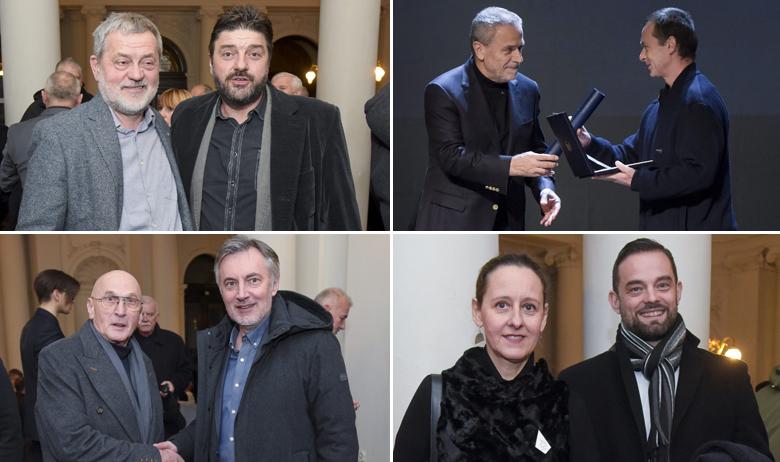 Branko Schmidt, Goran Navojec; Milan Bandić i Marko Gregurević; Mario Mihaljević i Miroslav Škoro; Nina Obuljen Koržinek i Krešimir Partl