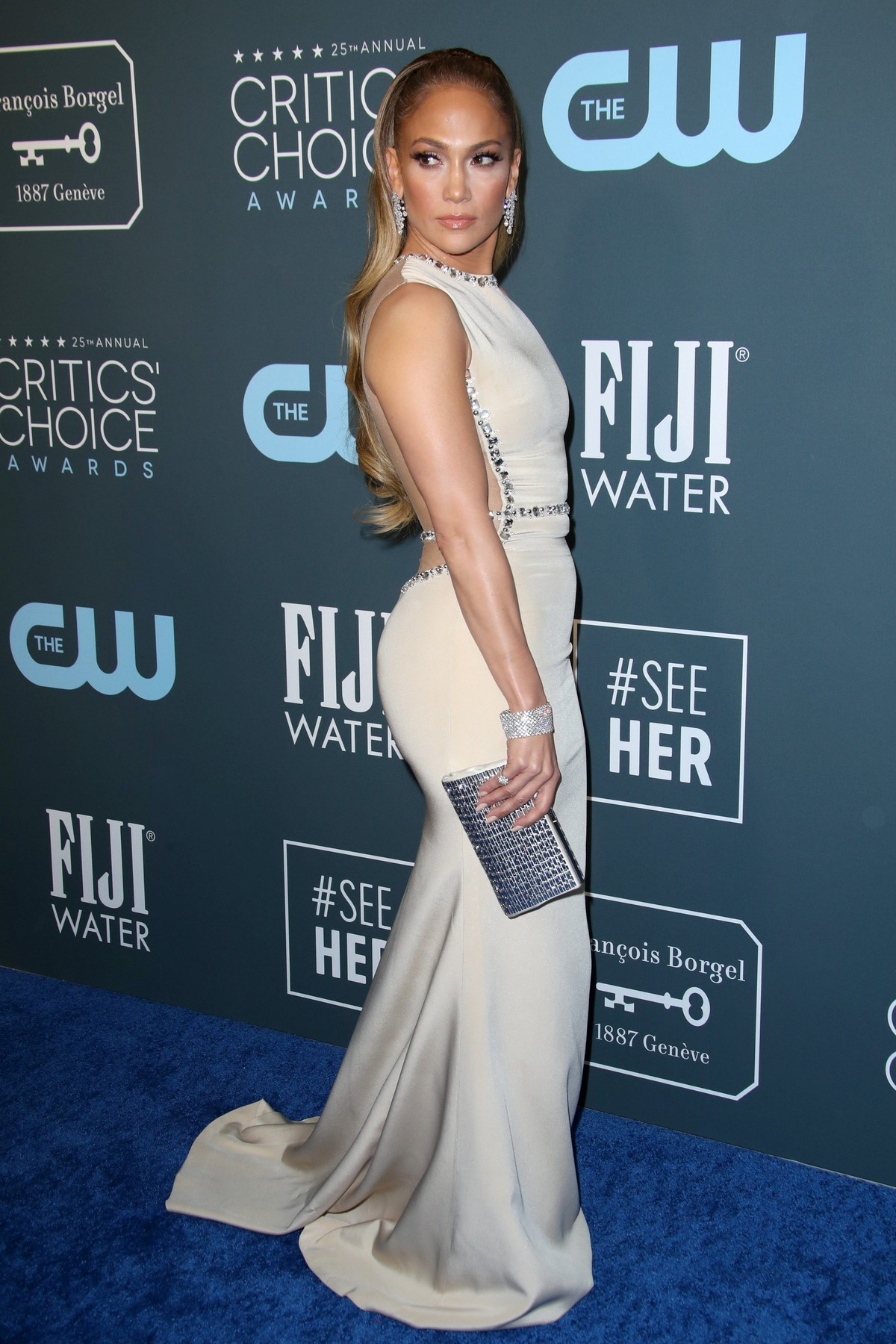 Jennifer Lopez 25th Annual Critics' Choice Awards, Arrivals, Barker Hanger, Los Angeles, USA - 12 Jan 2020, Image: 492412442, License: Rights-managed, Restrictions: , Model Release: no, Credit line: Matt Baron / Shutterstock Editorial / Profimedia