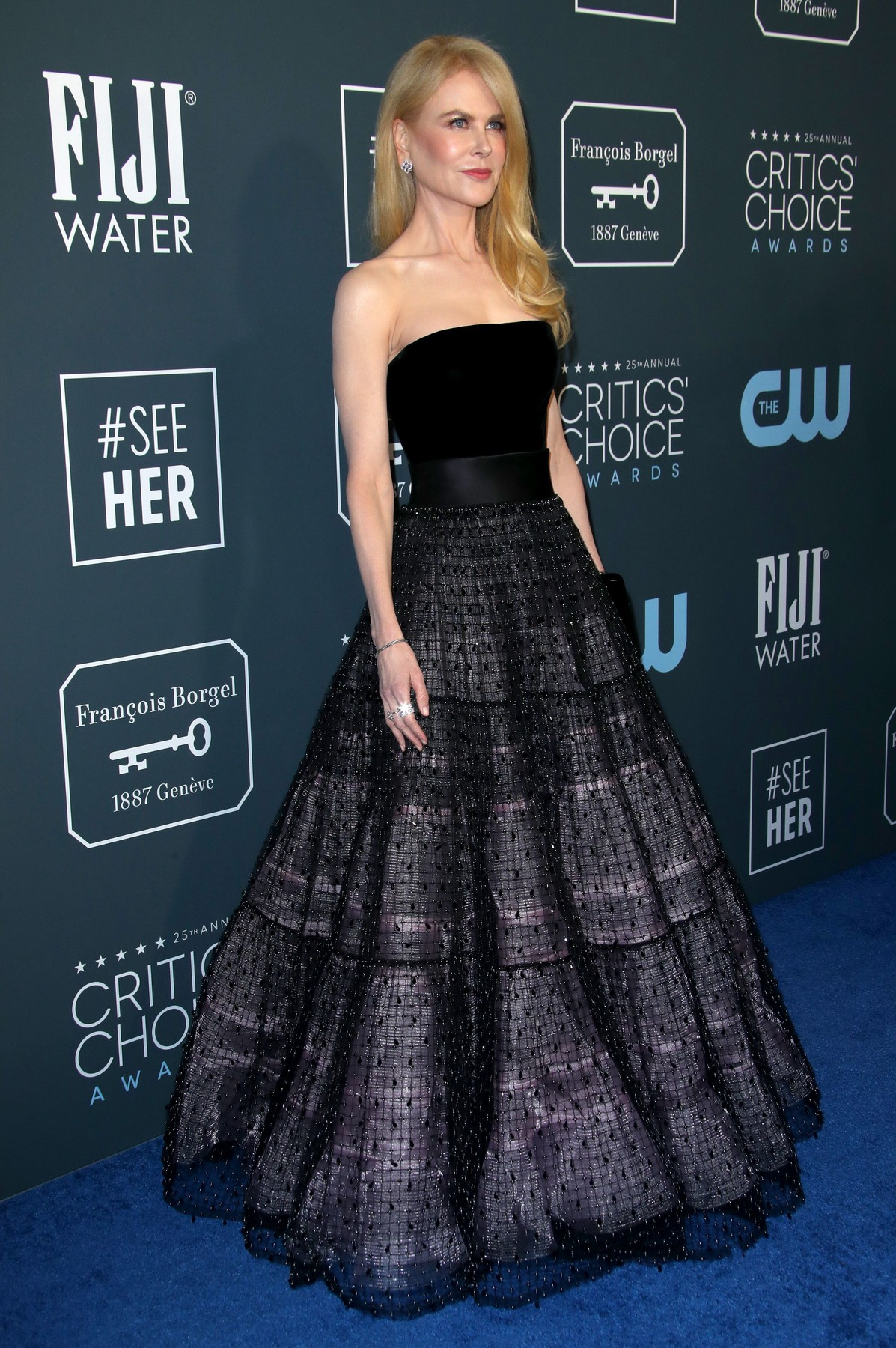 Nicole Kidman 25th Annual Critics' Choice Awards, Arrivals, Barker Hanger, Los Angeles, USA - 12 Jan 2020, Image: 492412480, License: Rights-managed, Restrictions: , Model Release: no, Credit line: Matt Baron / Shutterstock Editorial / Profimedia