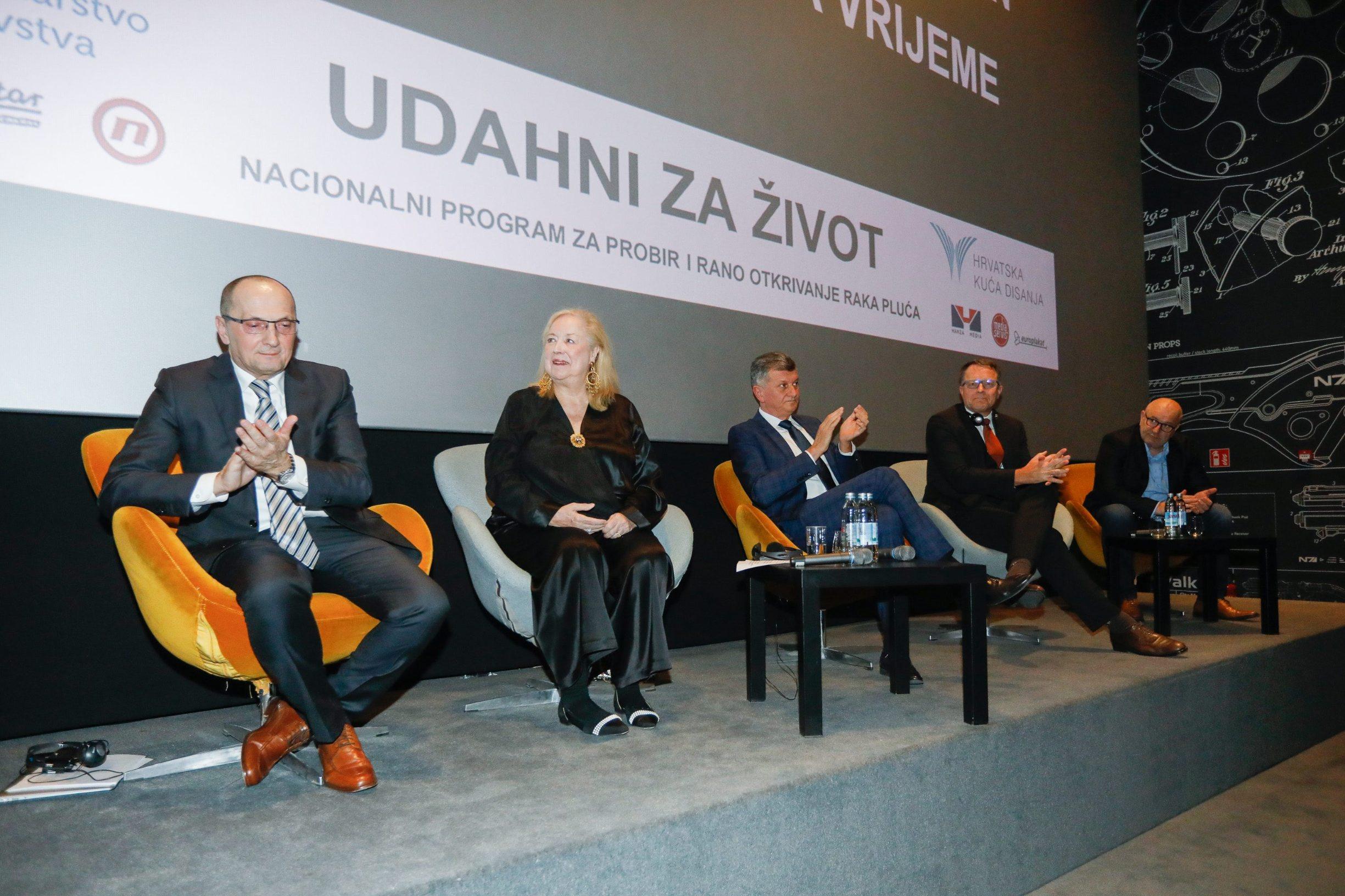 Željko Samaržija, Claudia Henschke, Milan Kujundžić, Hans Urlich Kauczor, Dejan Aćimović