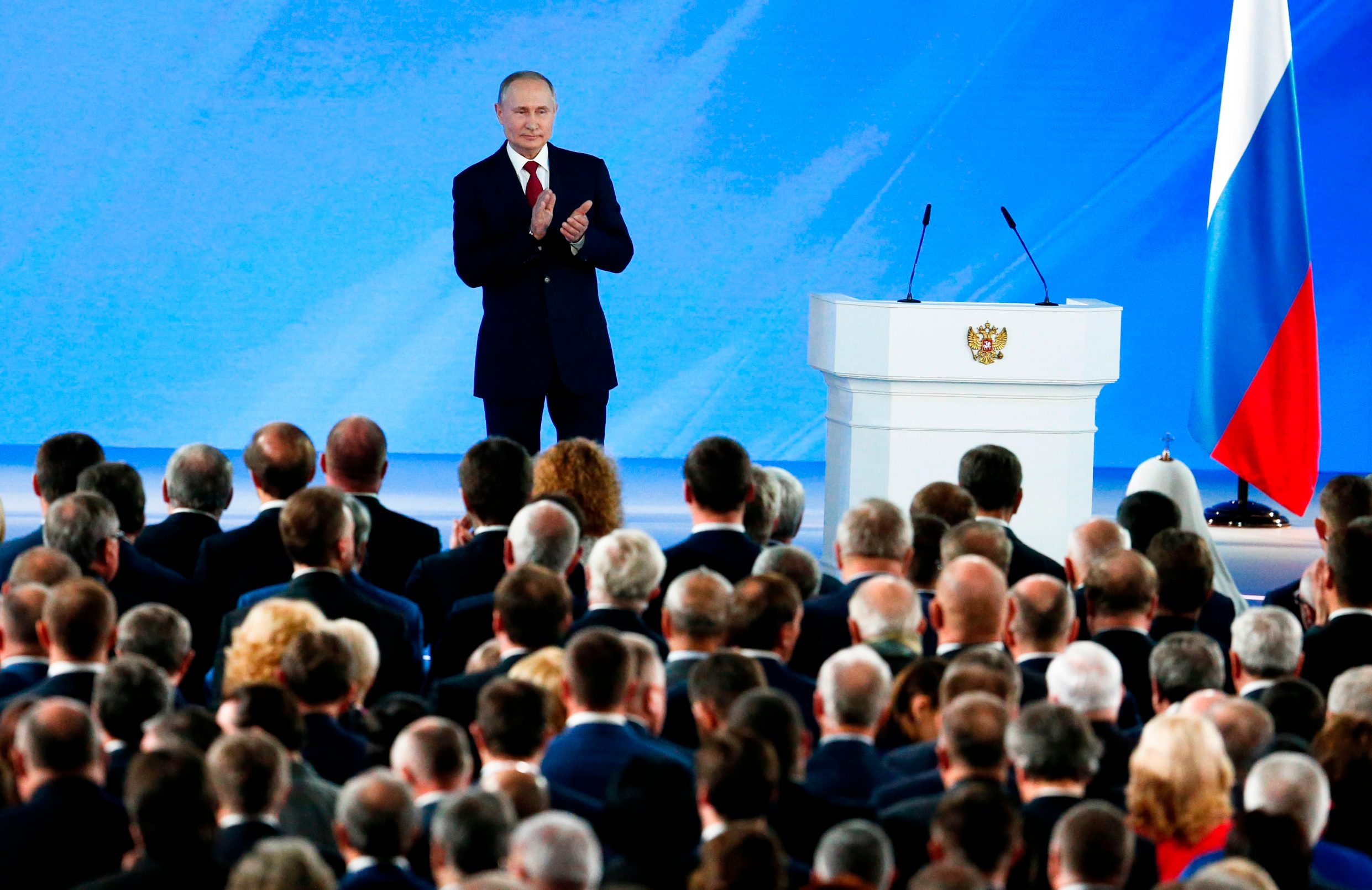 Putin pred zastupnicima
