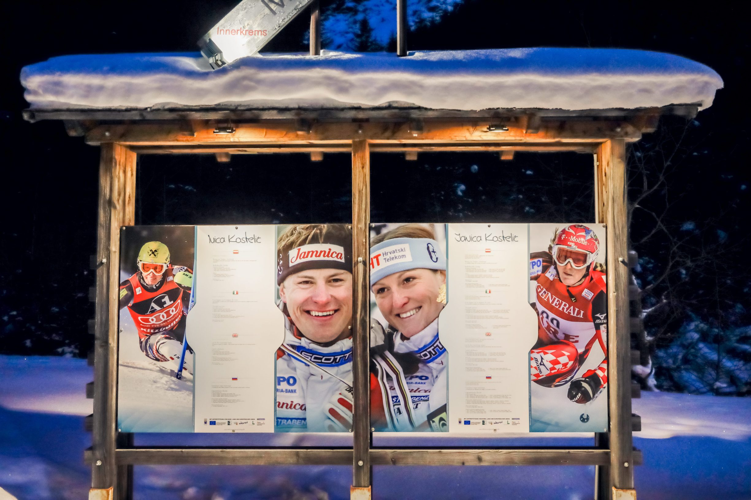 Innerkrems, Austrija, 130120 SKI Patrola Jutarnjeg Lista, skijaliste Innerkrems. Foto: Danijel Soldo / CROPIX
