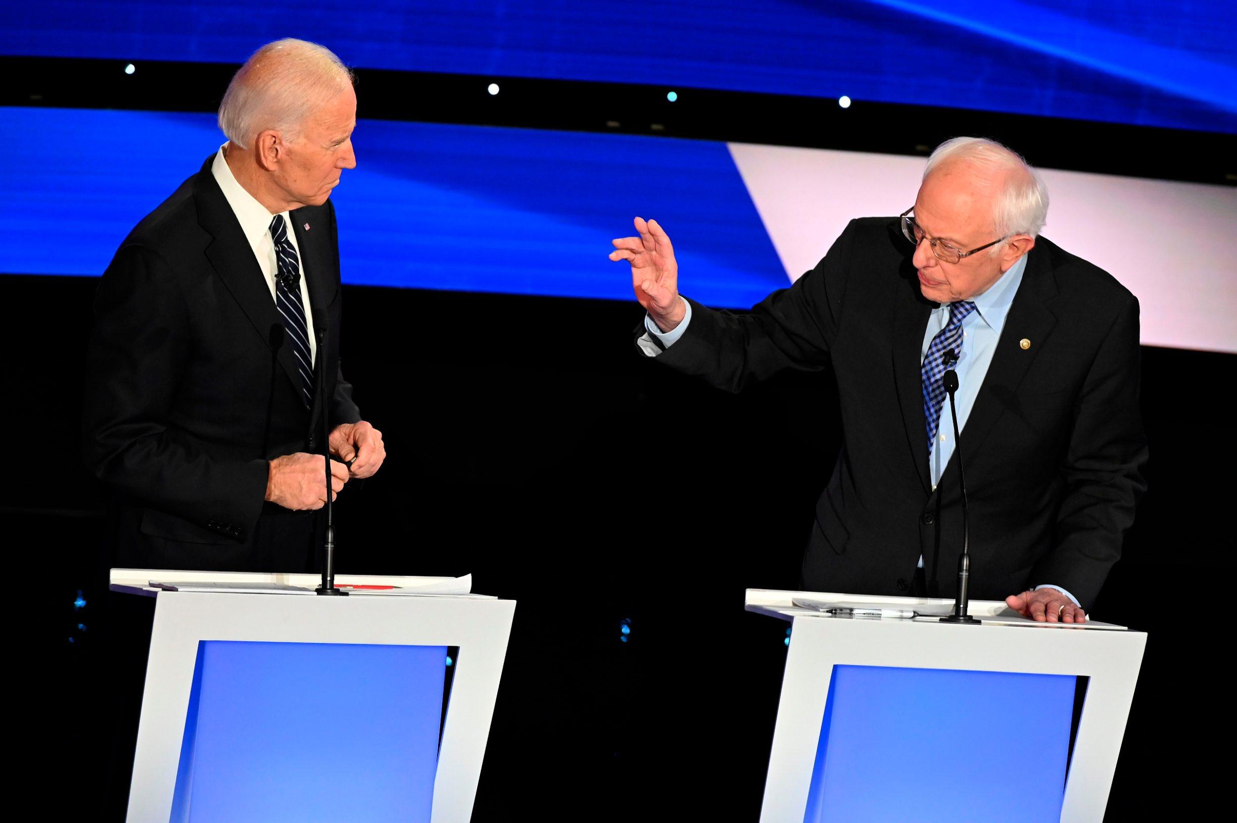 Joe Biden i Bernie Sanders