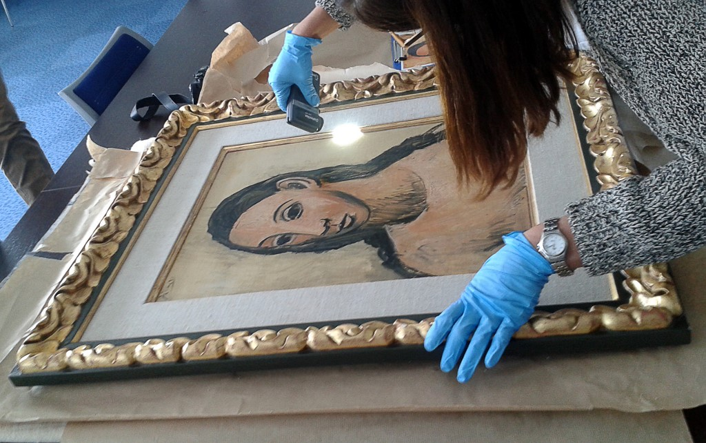 Picassova 'Glava mlade žene'
