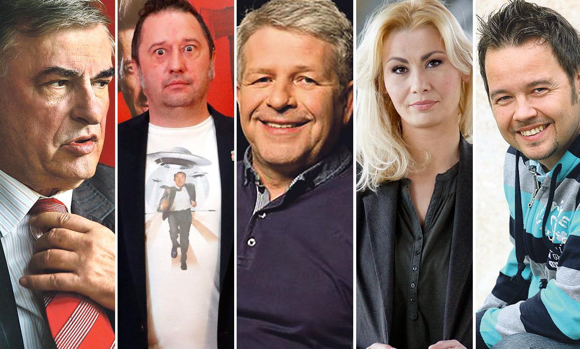 Goran Milić, Predrag Ličina, Željko Konigsknecht, Danka Derifaj i Robert Knjaz