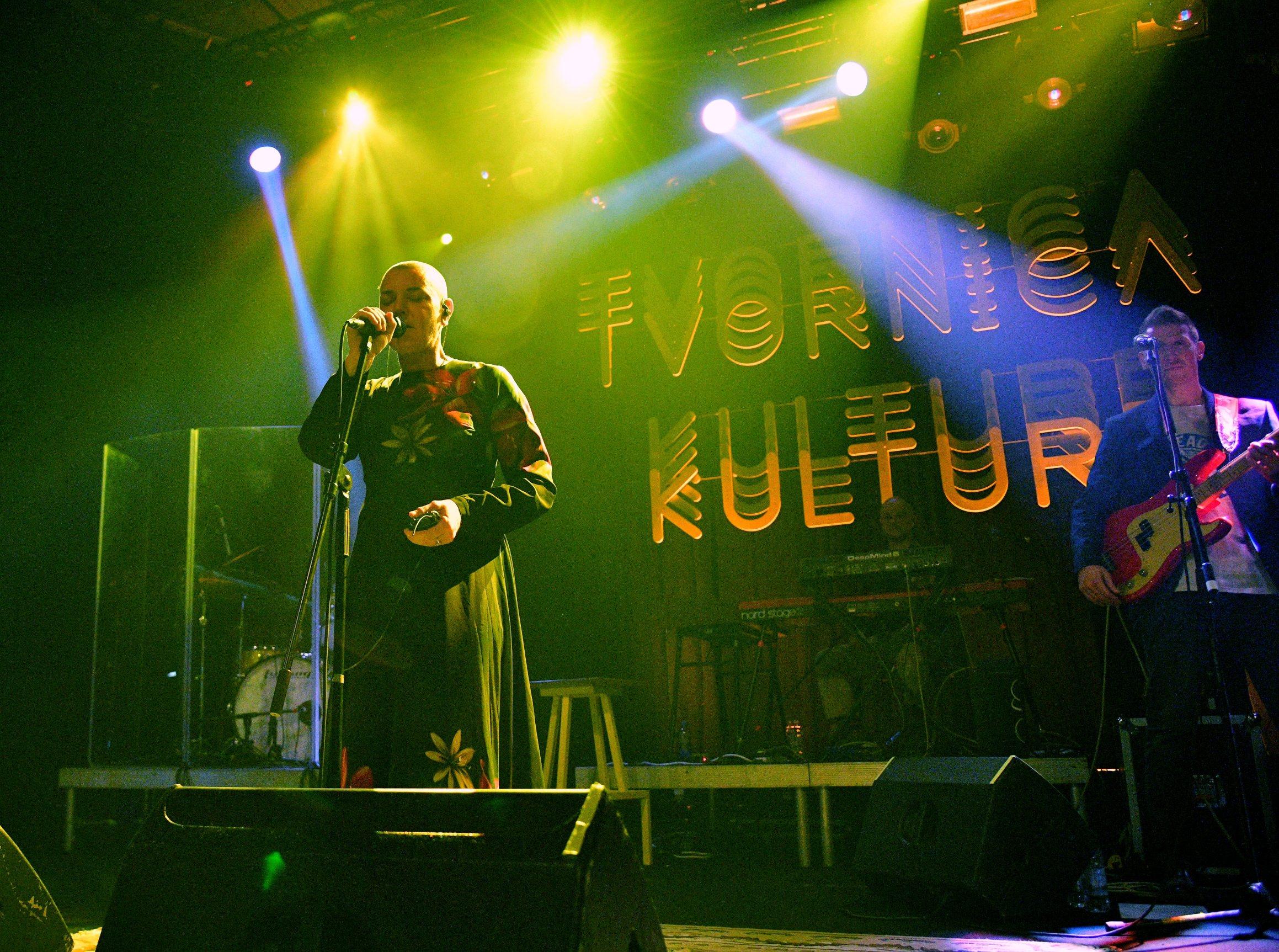 Zagreb, 150120. Tvornica kulture, Subiceva. Koncert Sinead O'Connor u Tvornici. Foto: Srdjan Vrancic / CROPIX