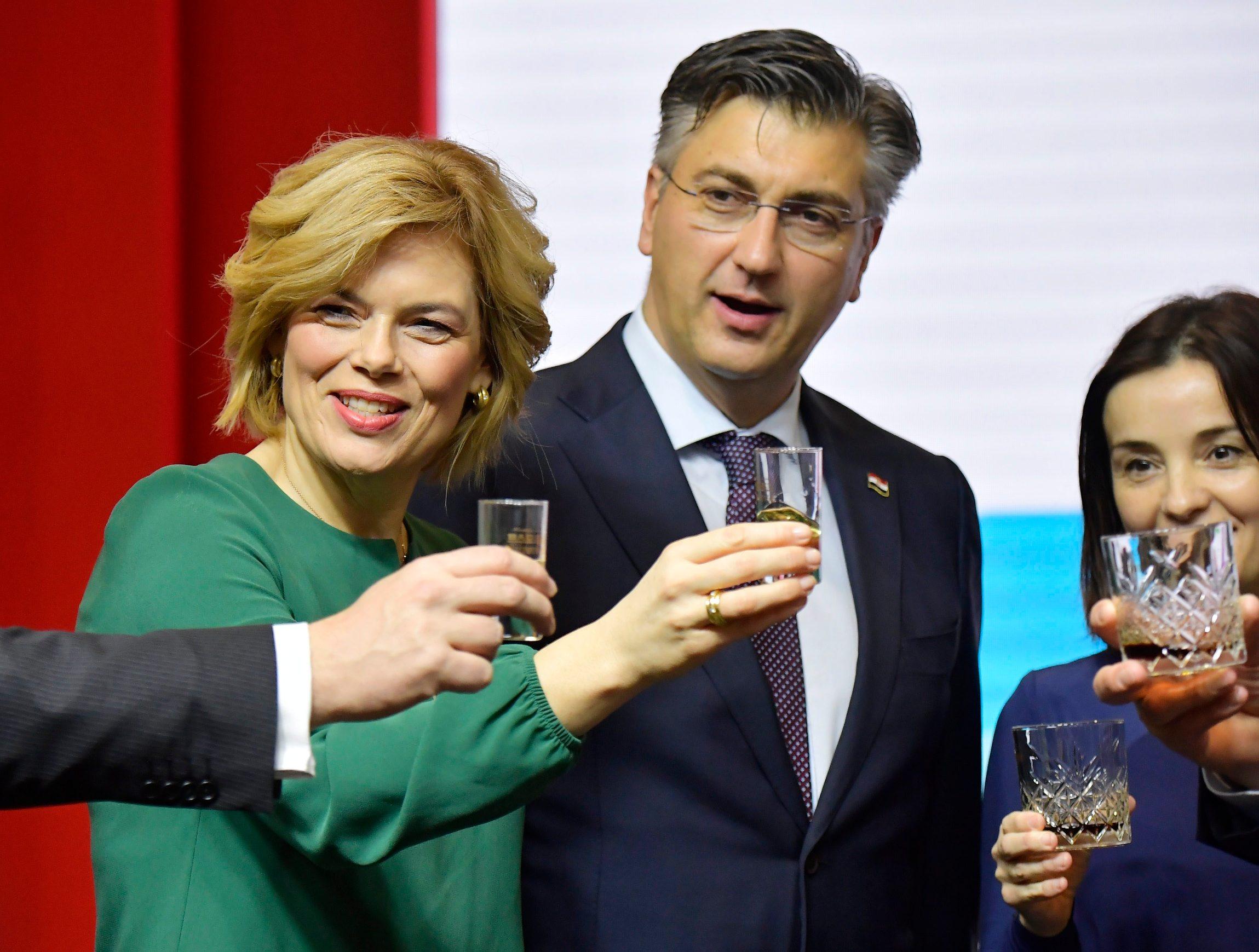 Julia Kloeckner, Andrej Plenković i Marija Vučković