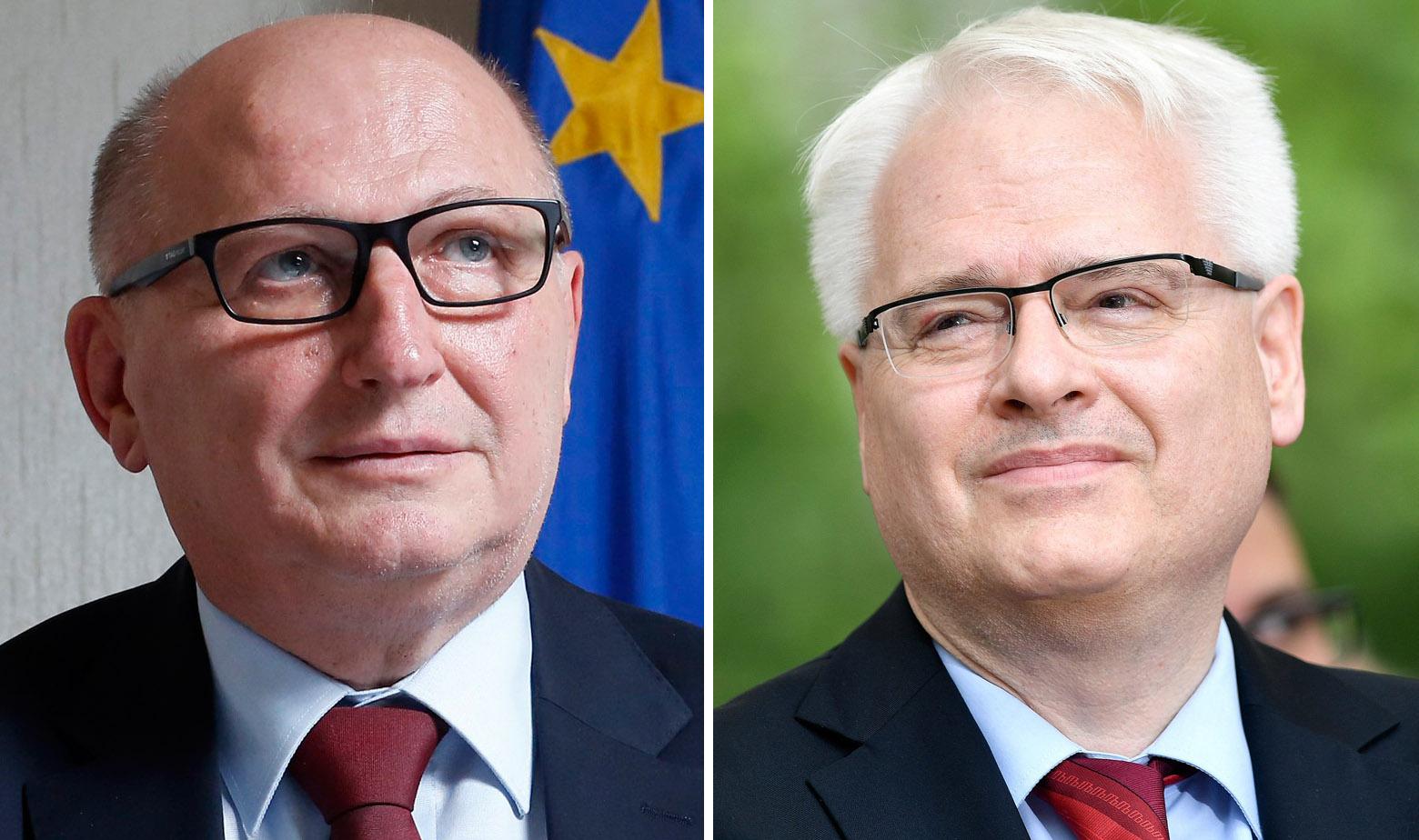 Miroslav Šeparović i Ivo Josipović