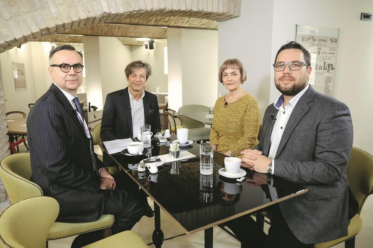 Gordan Markotić, Boris Vlašić, Vesna Pusić, Danijel Mondekar
