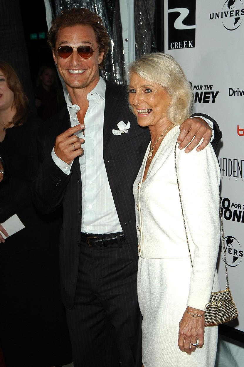Matthew McConaughey i majka Kay