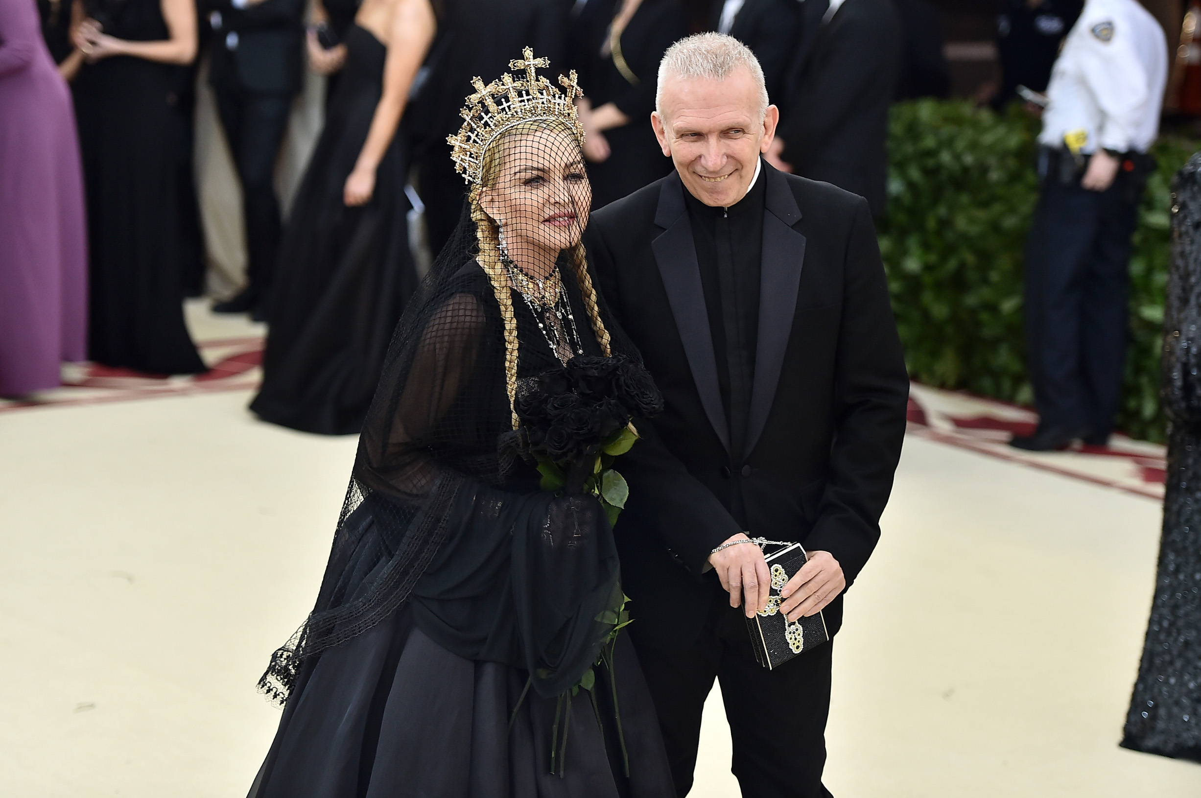 S Madonnom 2018. na Met Gali