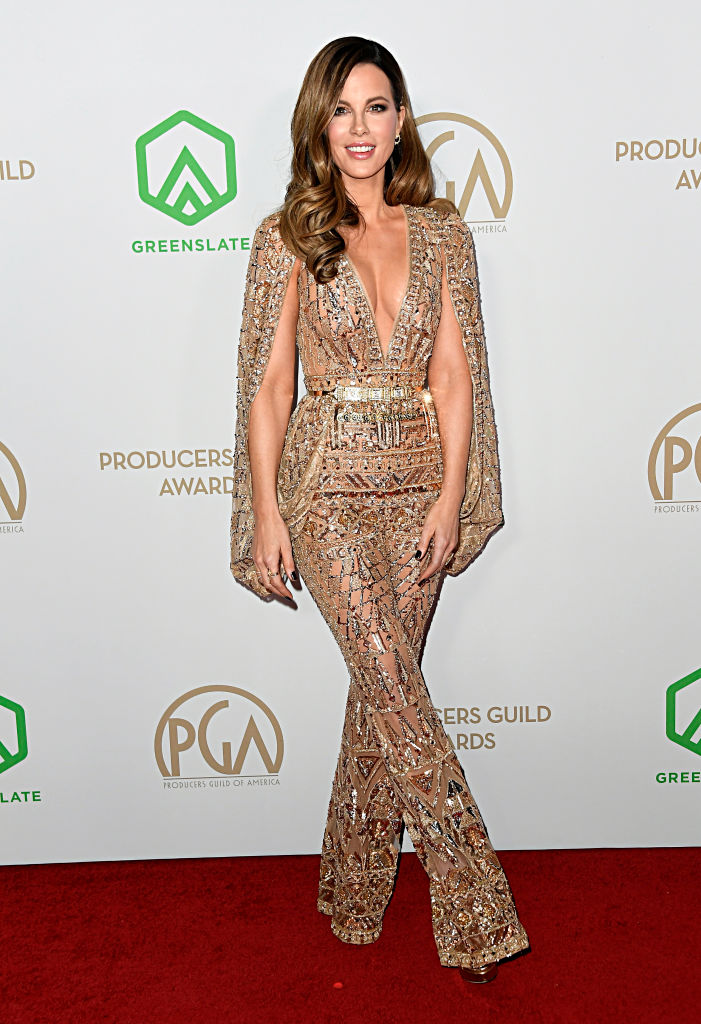 LOS ANGELES, CALIFORNIA - JANUARY 18: Kate Beckinsale attends the 31st Annual Producers Guild Awards at Hollywood Palladium on January 18, 2020 in Los Angeles, California. (Photo by Frazer Harrison/Getty Images)