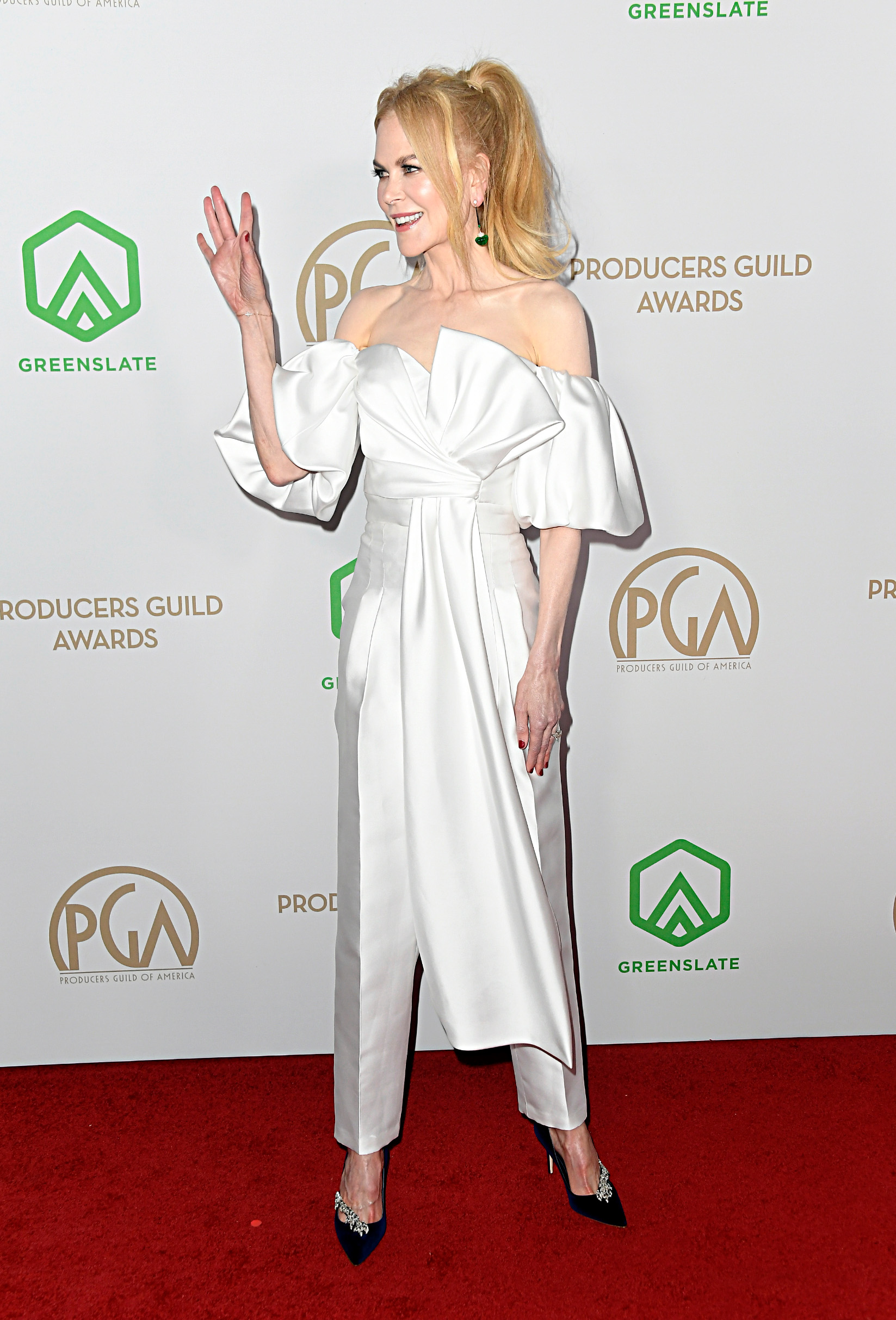 LOS ANGELES, CALIFORNIA - JANUARY 18: Nicole Kidman attends the 31st Annual Producers Guild Awards at Hollywood Palladium on January 18, 2020 in Los Angeles, California. (Photo by Frazer Harrison/Getty Images)