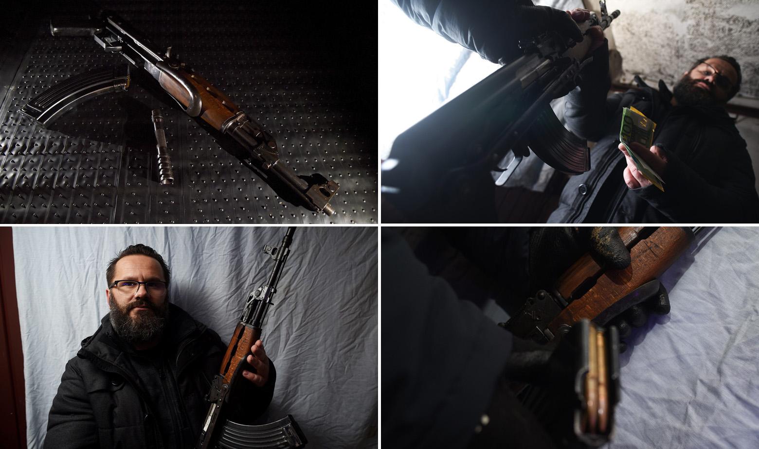 Reporter Jutarnjeg Mario Pušić kupuje automatsku pušku