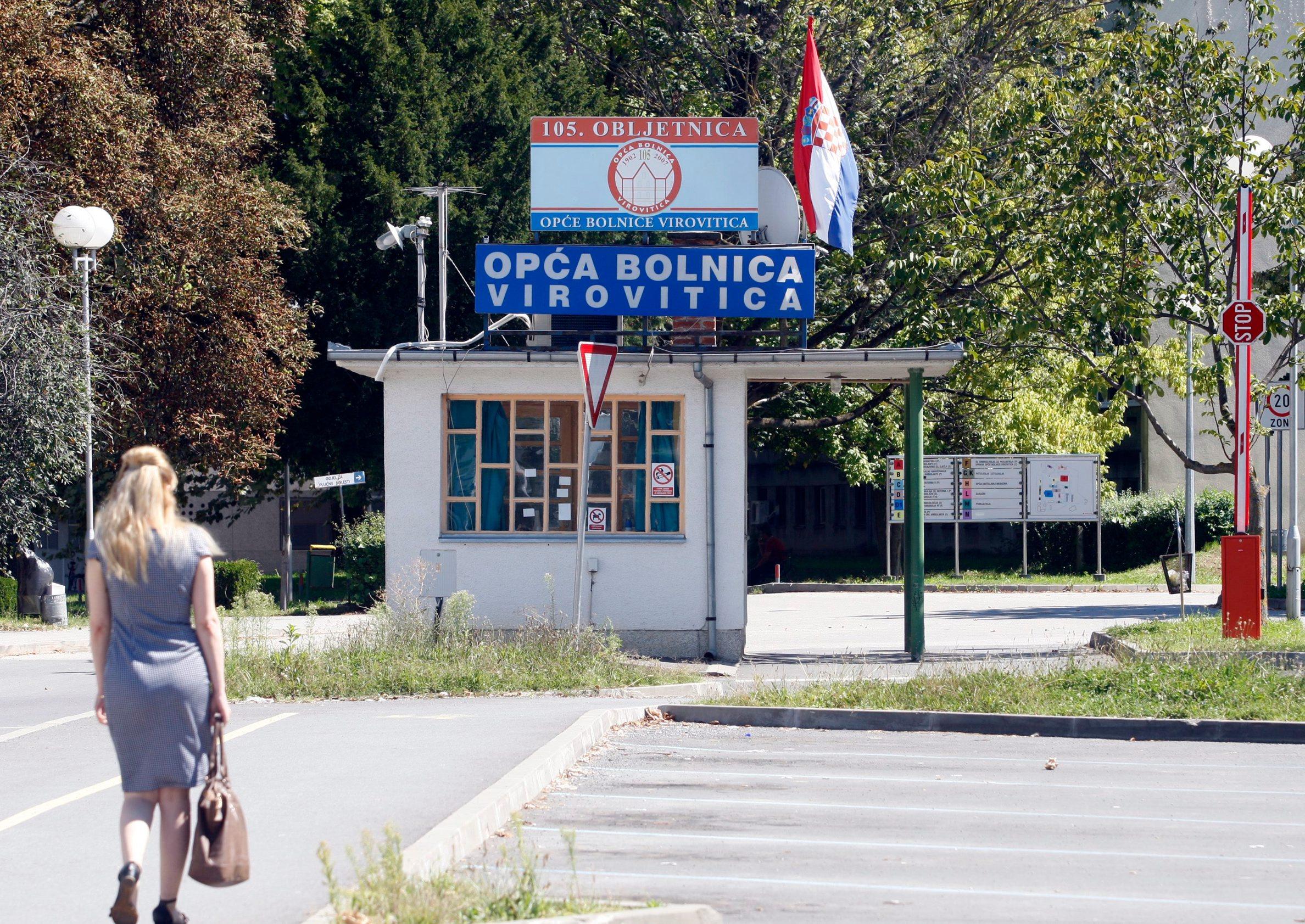 Virovitica, 300814. Opca bolnica Virovitica.  Foto: Darko Tomas / Cropix