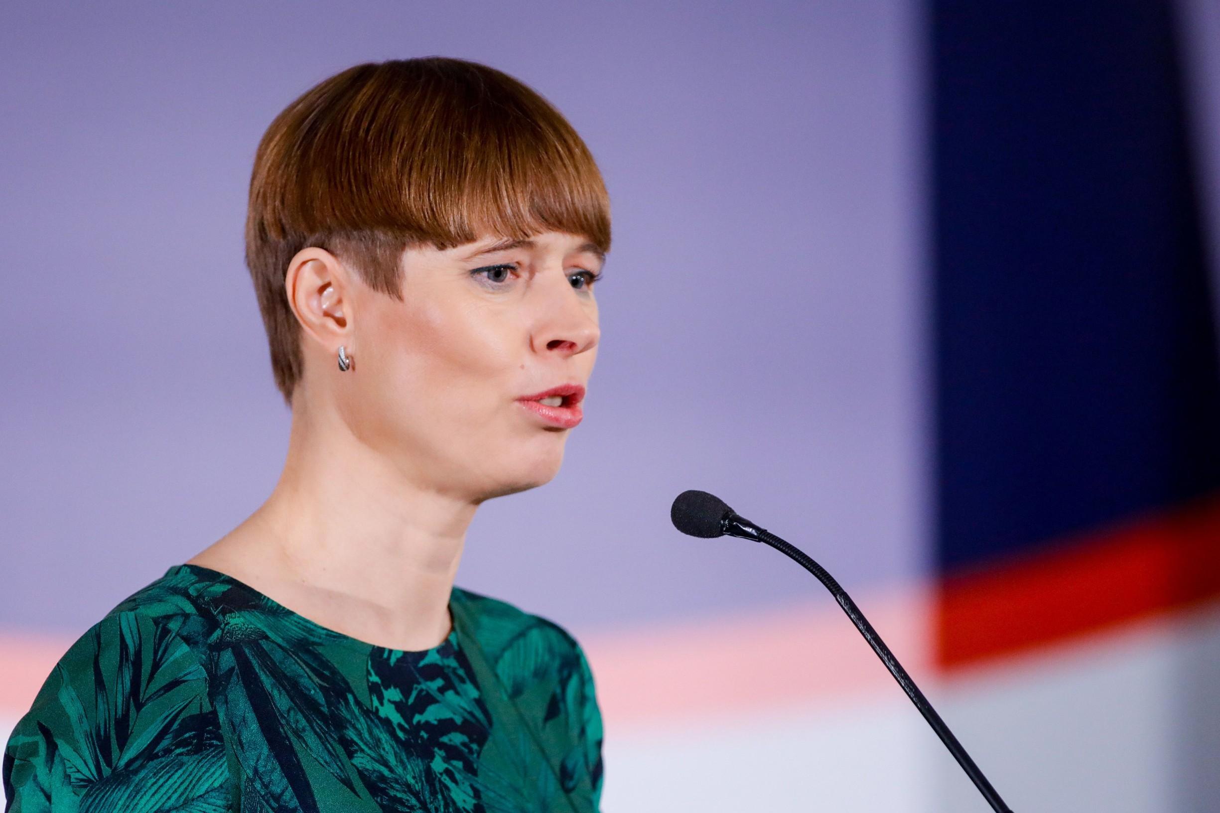 Predsjednica Estonije Kersti Kaljulaid