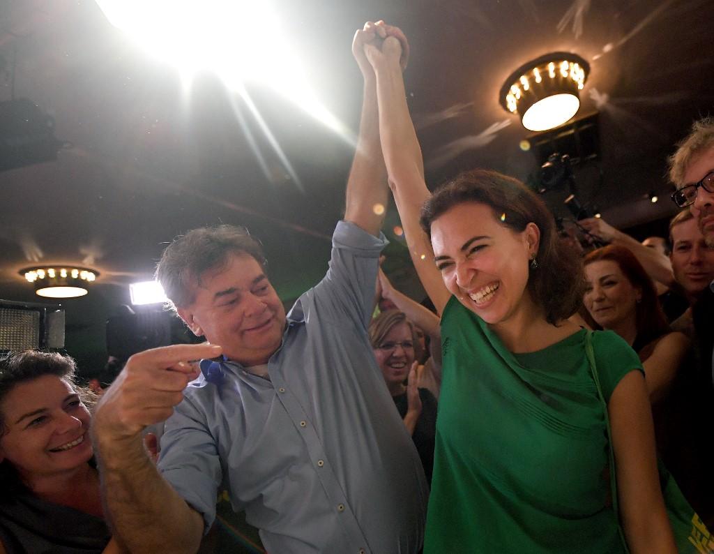 Werner Kogler i Alma Zadic